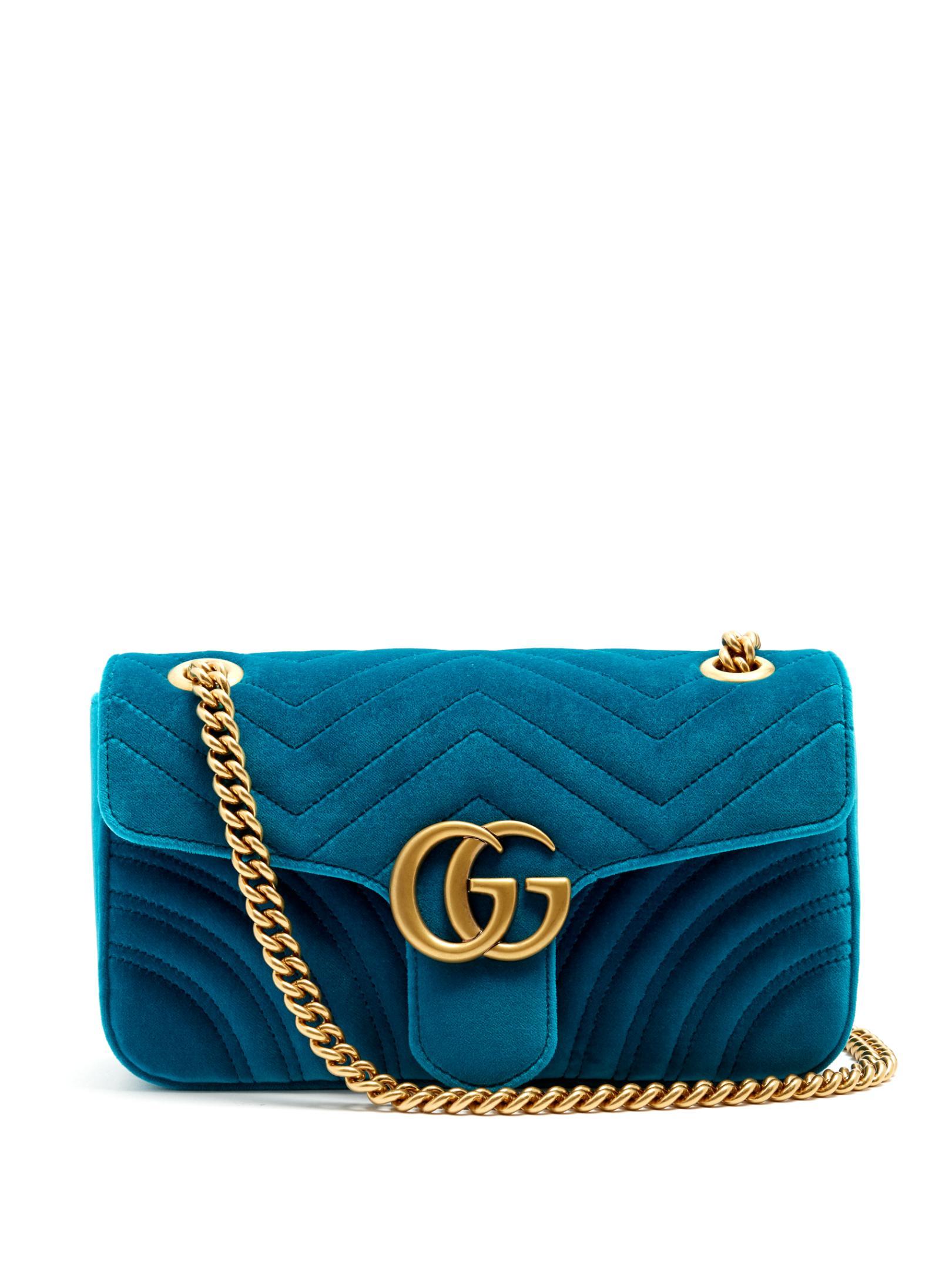 0b1660c60e23a4 Gucci Marmont Bag Small Velvet   Mount Mercy University