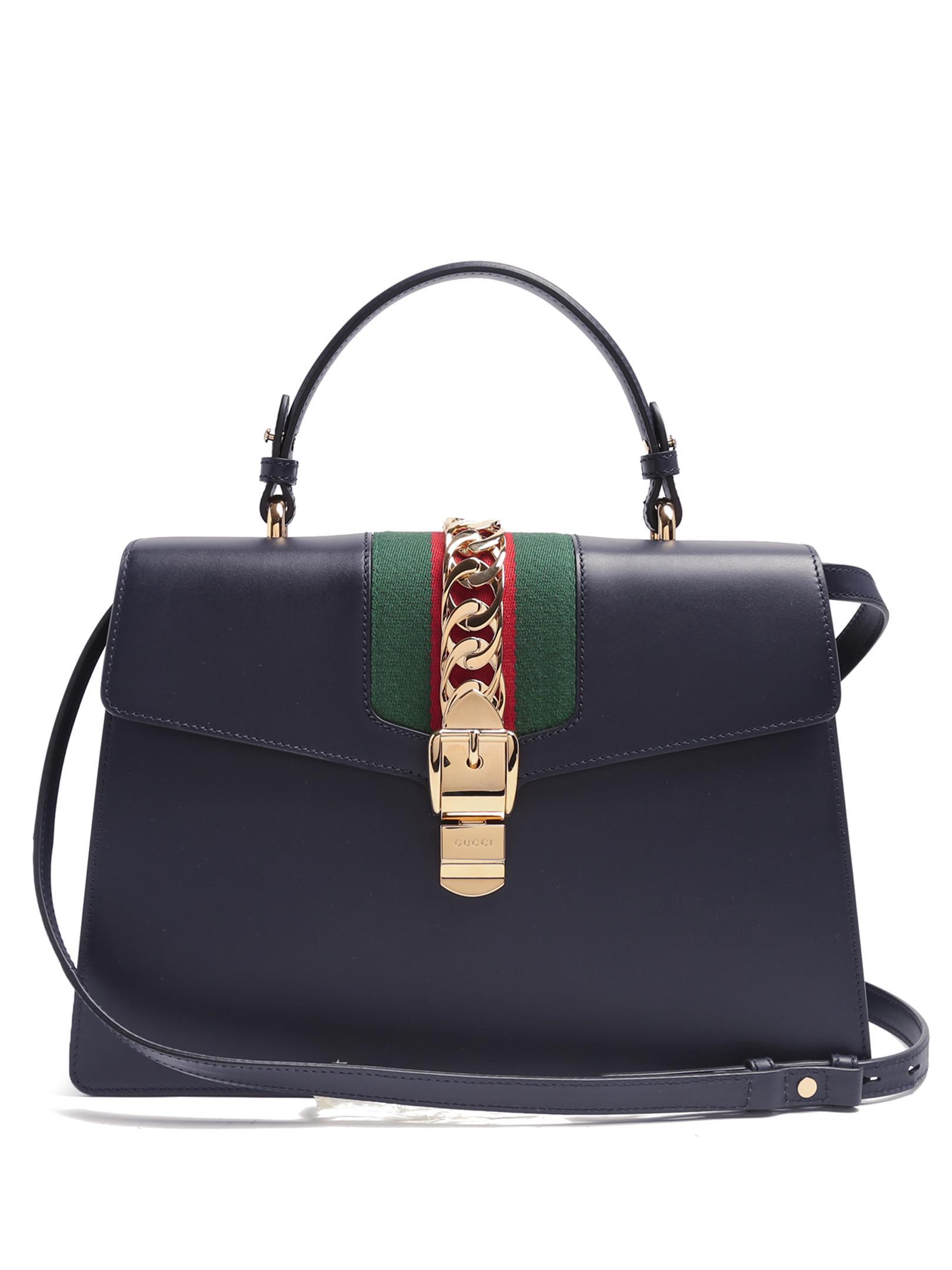 21edb0d29f4a Gucci Leather Medium Shoulder Bag 523354