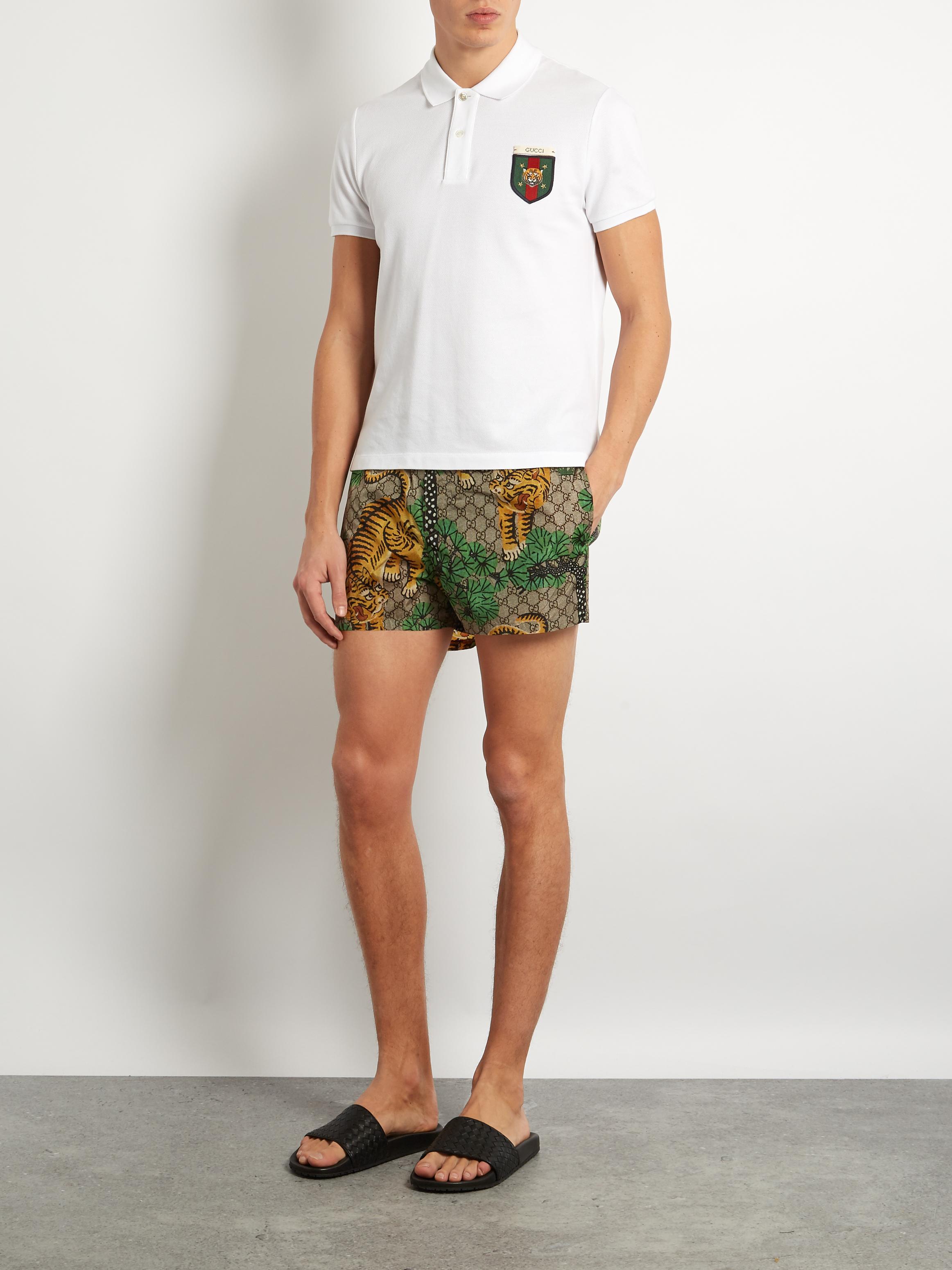 c8c57247a95 Gucci Mens Polo Shirts Uk