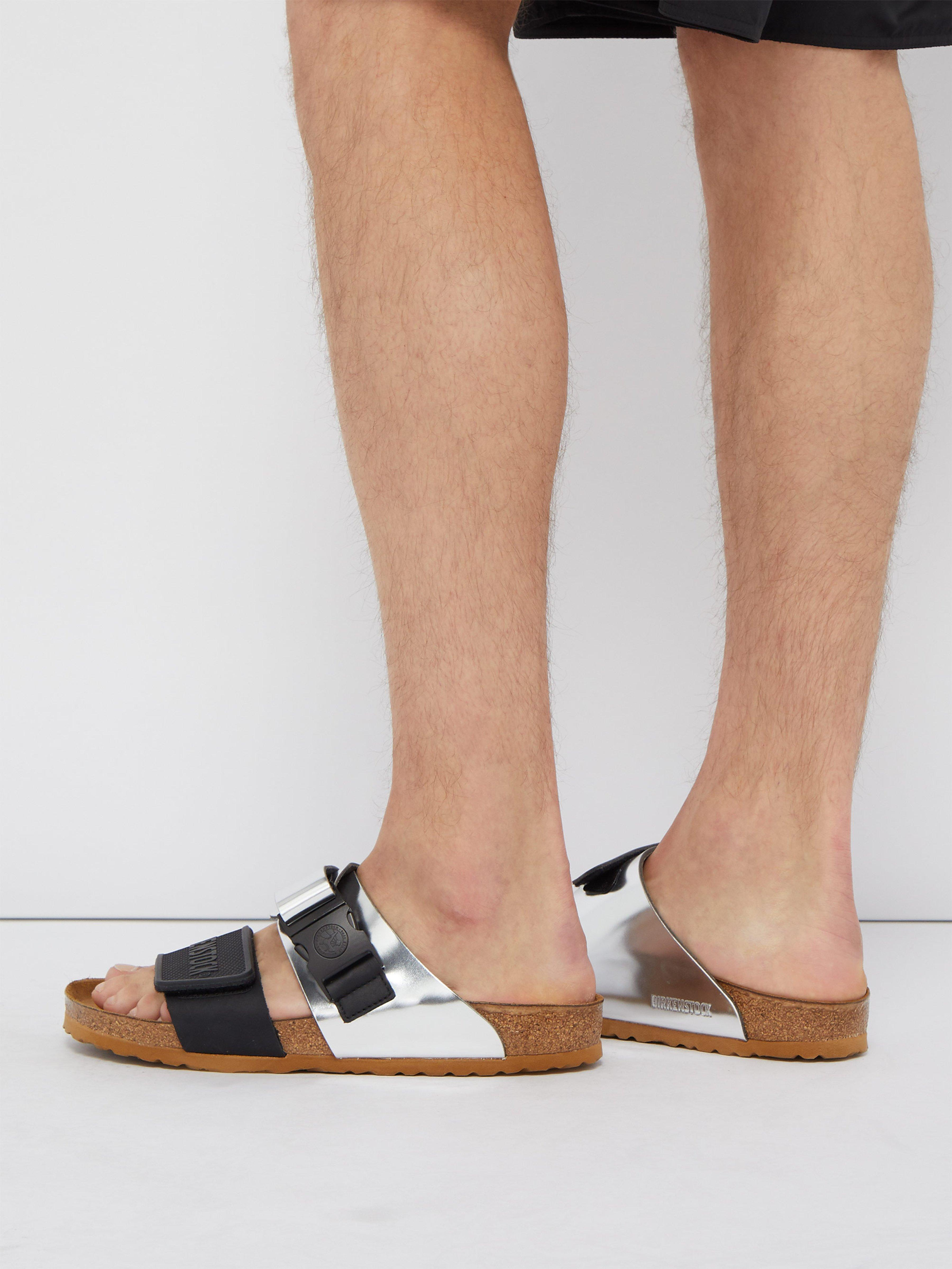 fb512bbb26dd47 Rick Owens X Birkenstock Arizona Leather Sandals for Men - Lyst