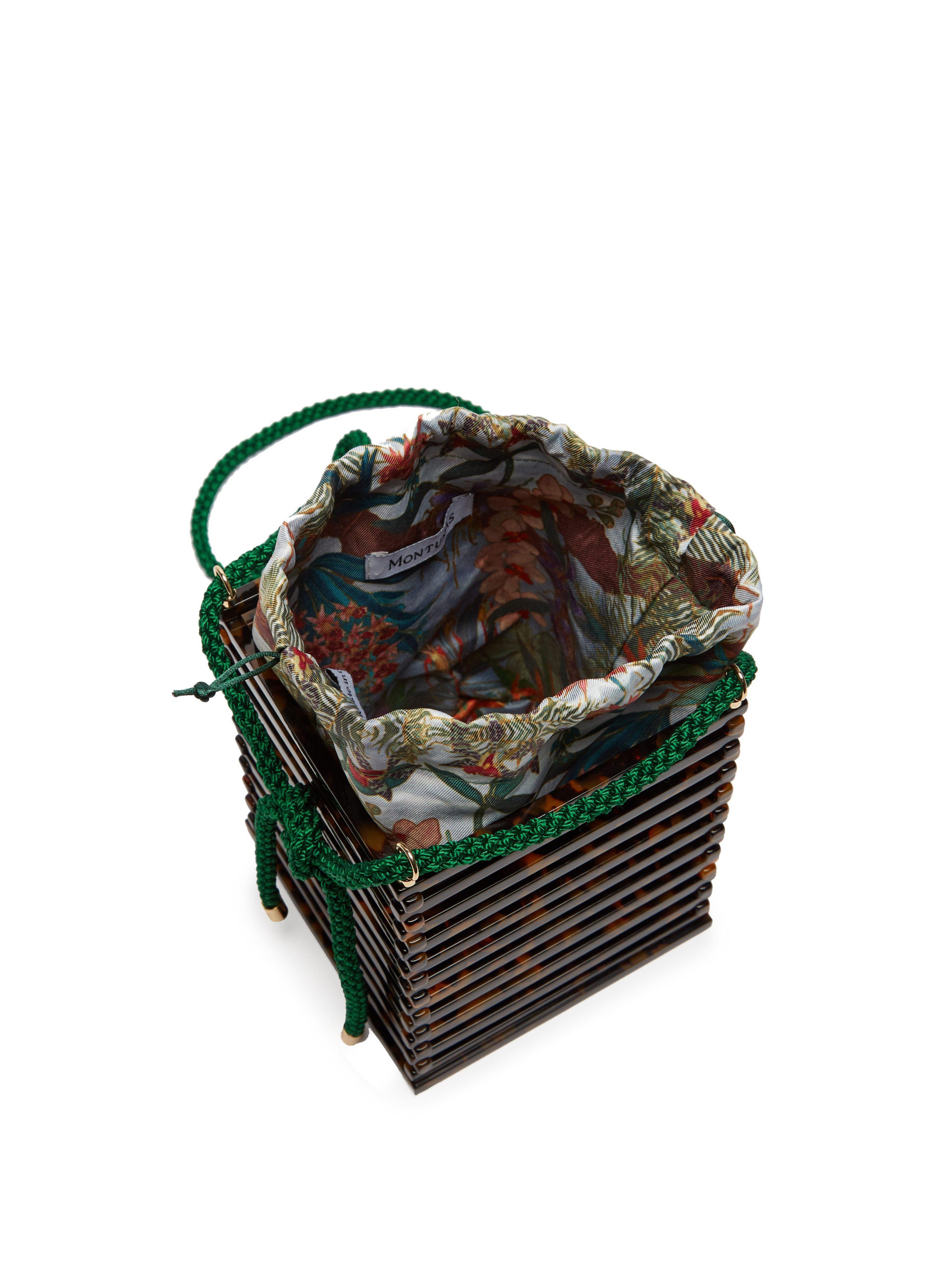 10c9edbabe ... Vanda Acetate Box Bag - Lyst. Visit MATCHESFASHION.COM. Tap to visit  site