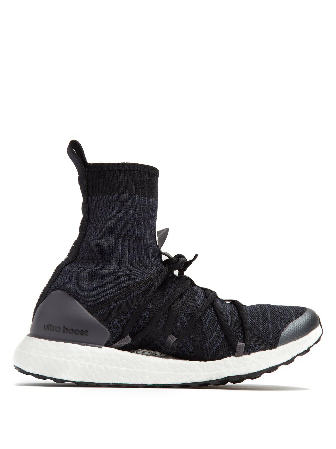 meet e5919 cc7b4 adidas-by-stella-mccartney-black-Ultra-Boost-X-High-Top-Sock-Trainers.jpeg
