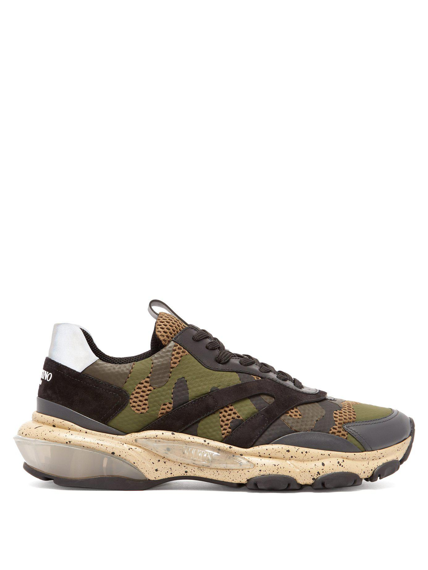 193b52829 Lyst - Valentino Bounce Raised Sole Low Top Trainers for Men