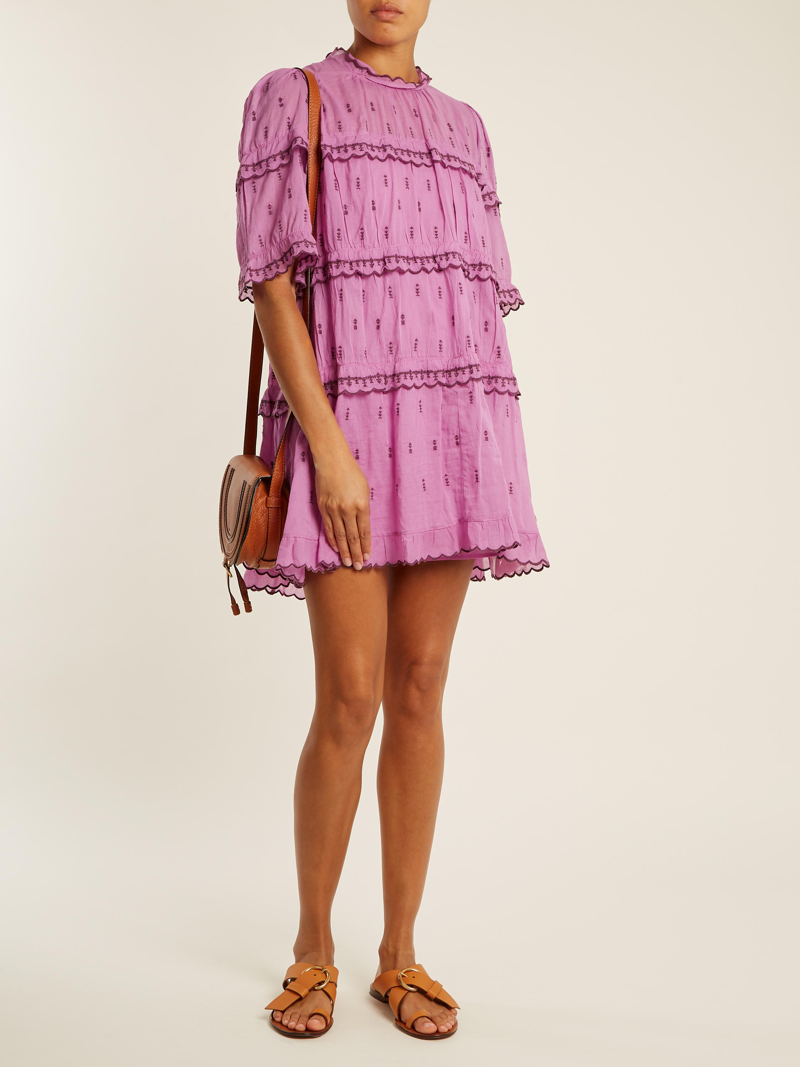Ondria cotton dress Isabel Marant LzIRpnjRJU