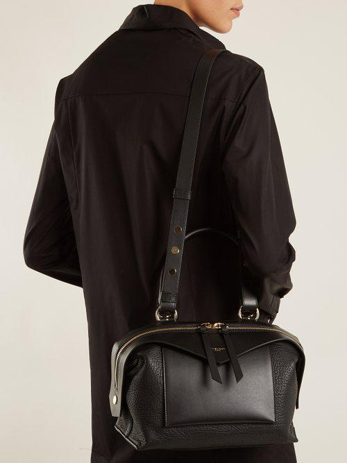 79b52379c82e Givenchy Sway Small Leather Bag in Black - Lyst