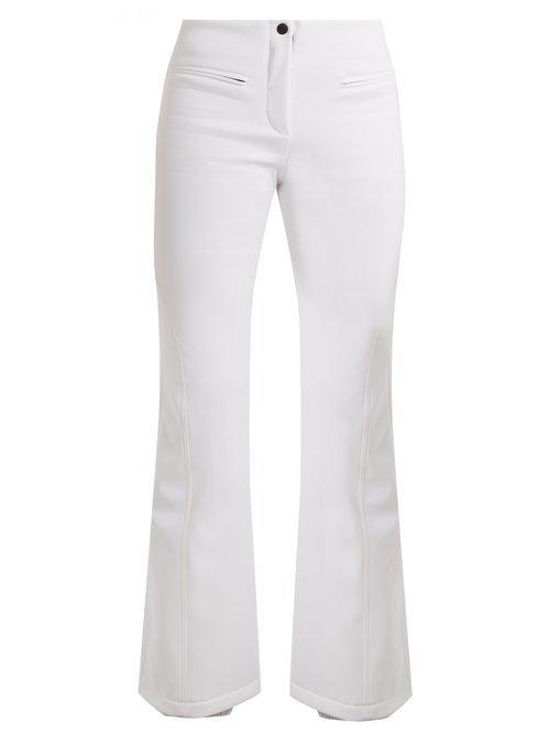 Fendi High-rise Kick-flare Technical Ski Trousers in White - Lyst 9322cbf44