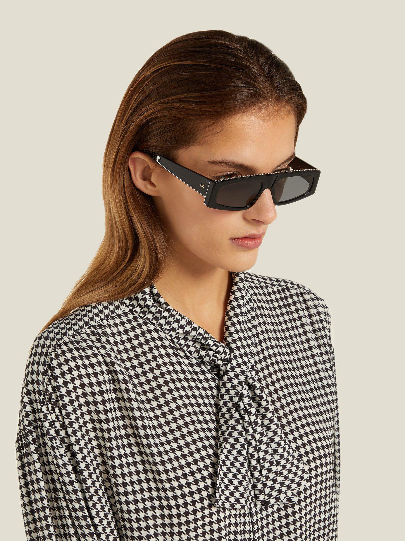08c3578b3ba0 Dior Power Sunglasses in Black - Lyst