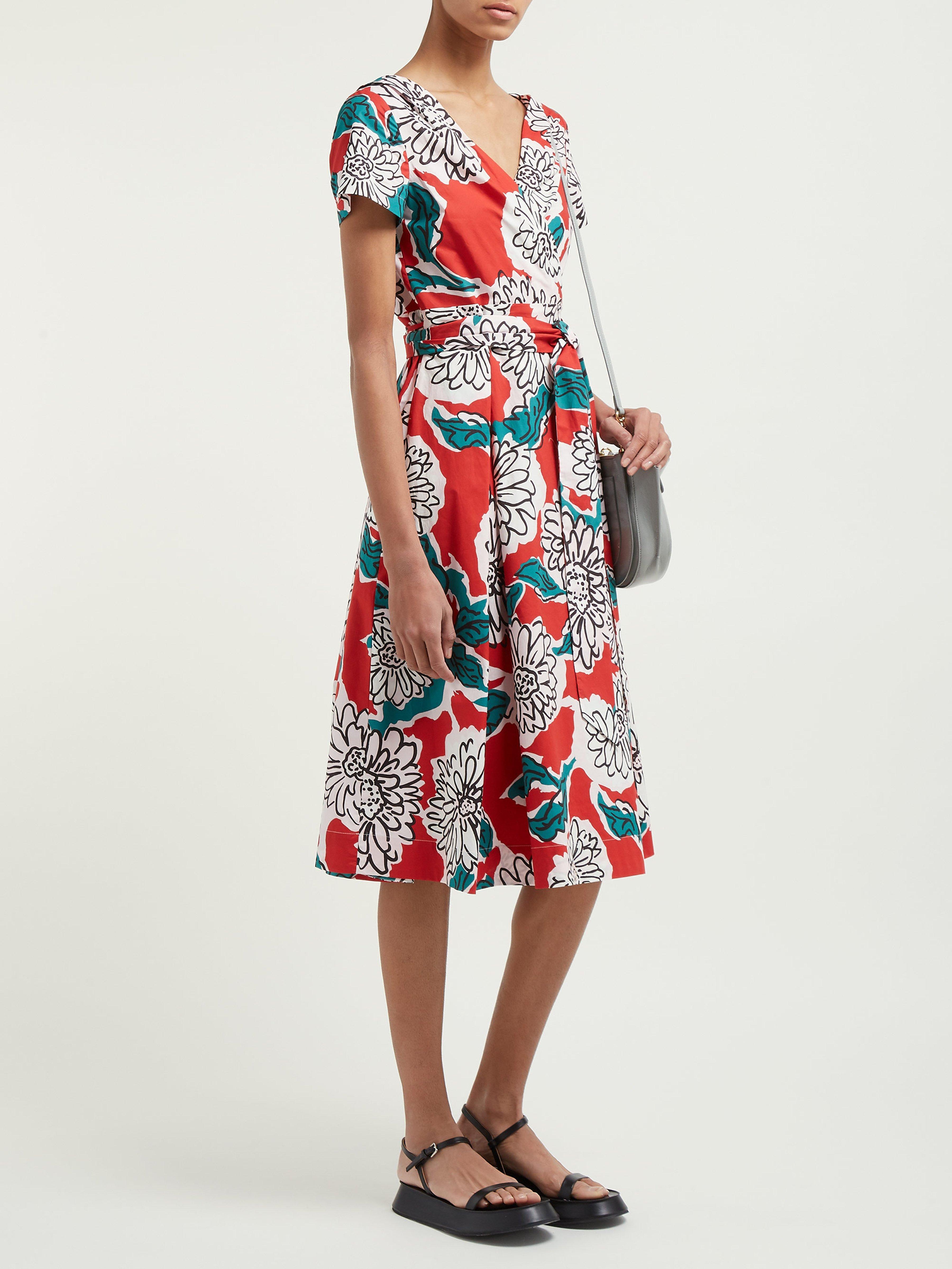 613022d4975 Weekend by Maxmara Oronte Dress in Red - Lyst