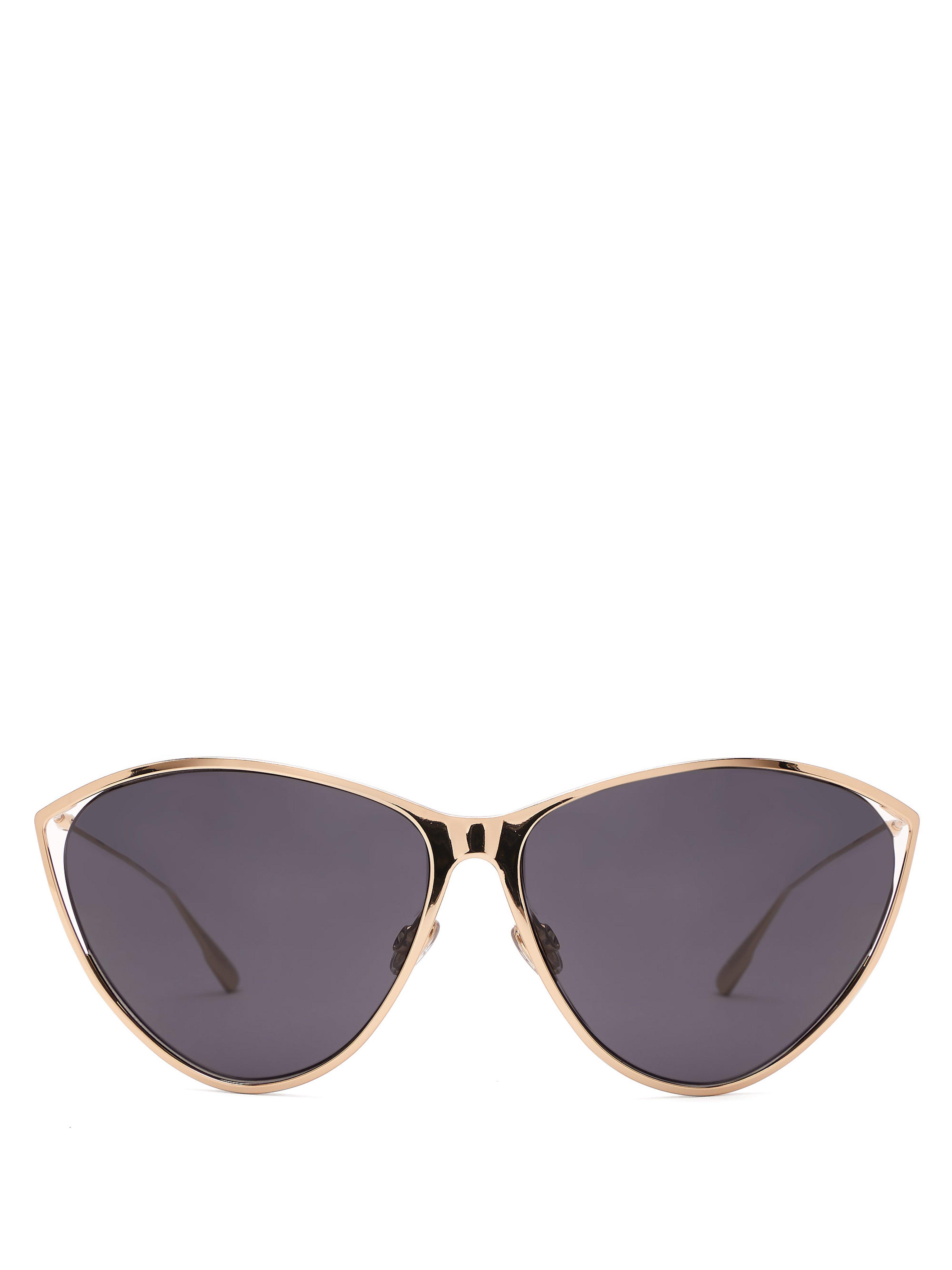 985d58b2e2f Dior. Women s Cat Eye Metal Sunglasses