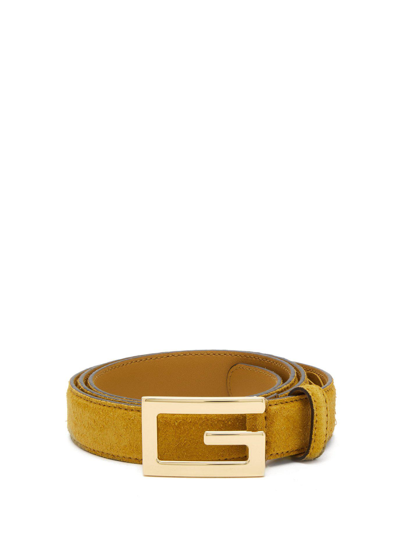eb2f783656d Lyst - Gucci Gg Leather Belt for Men - Save 26%