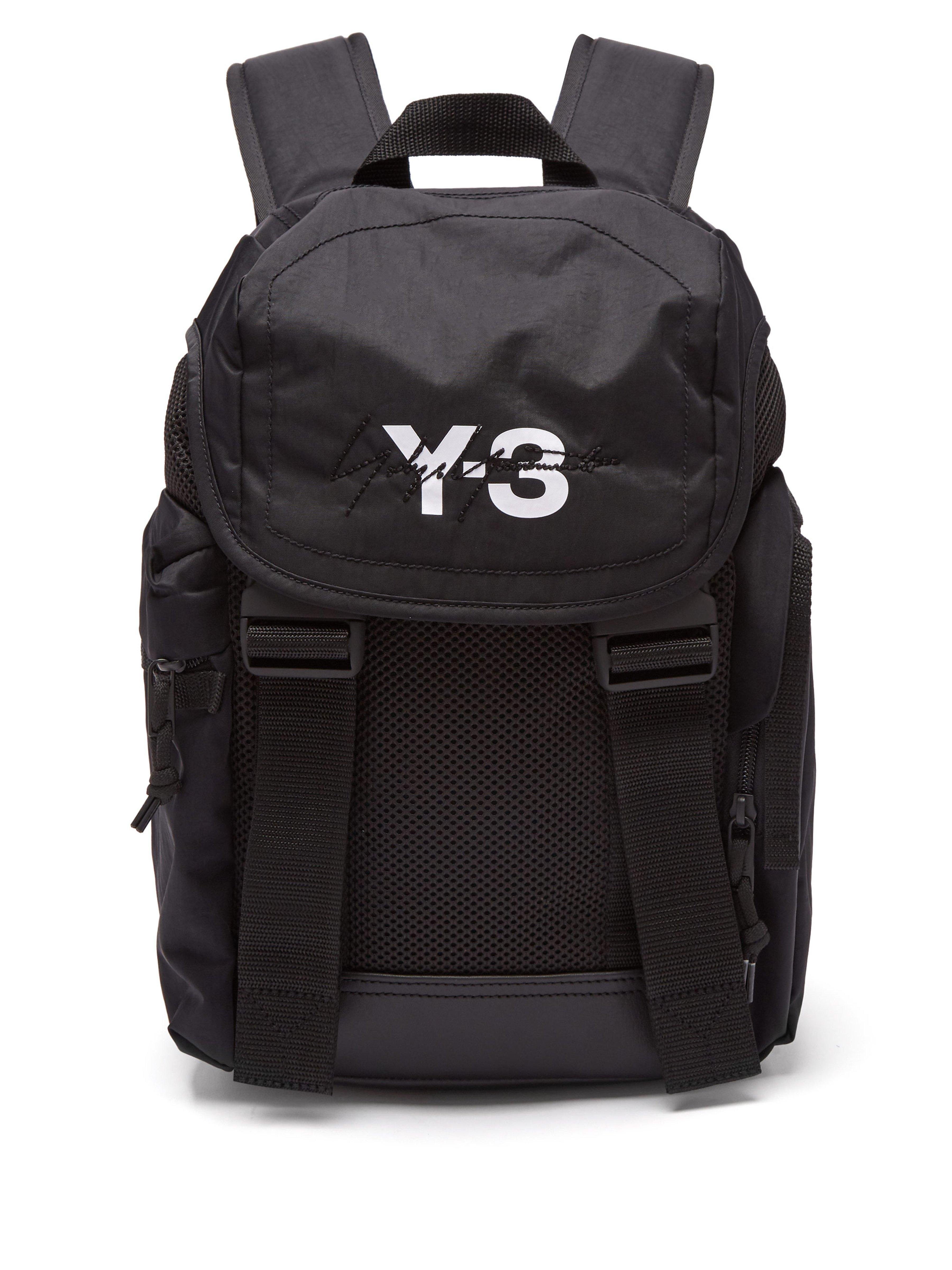 ea58c17f9d Y-3 Xs Mobility Logo Print Backpack in Black for Men - Lyst