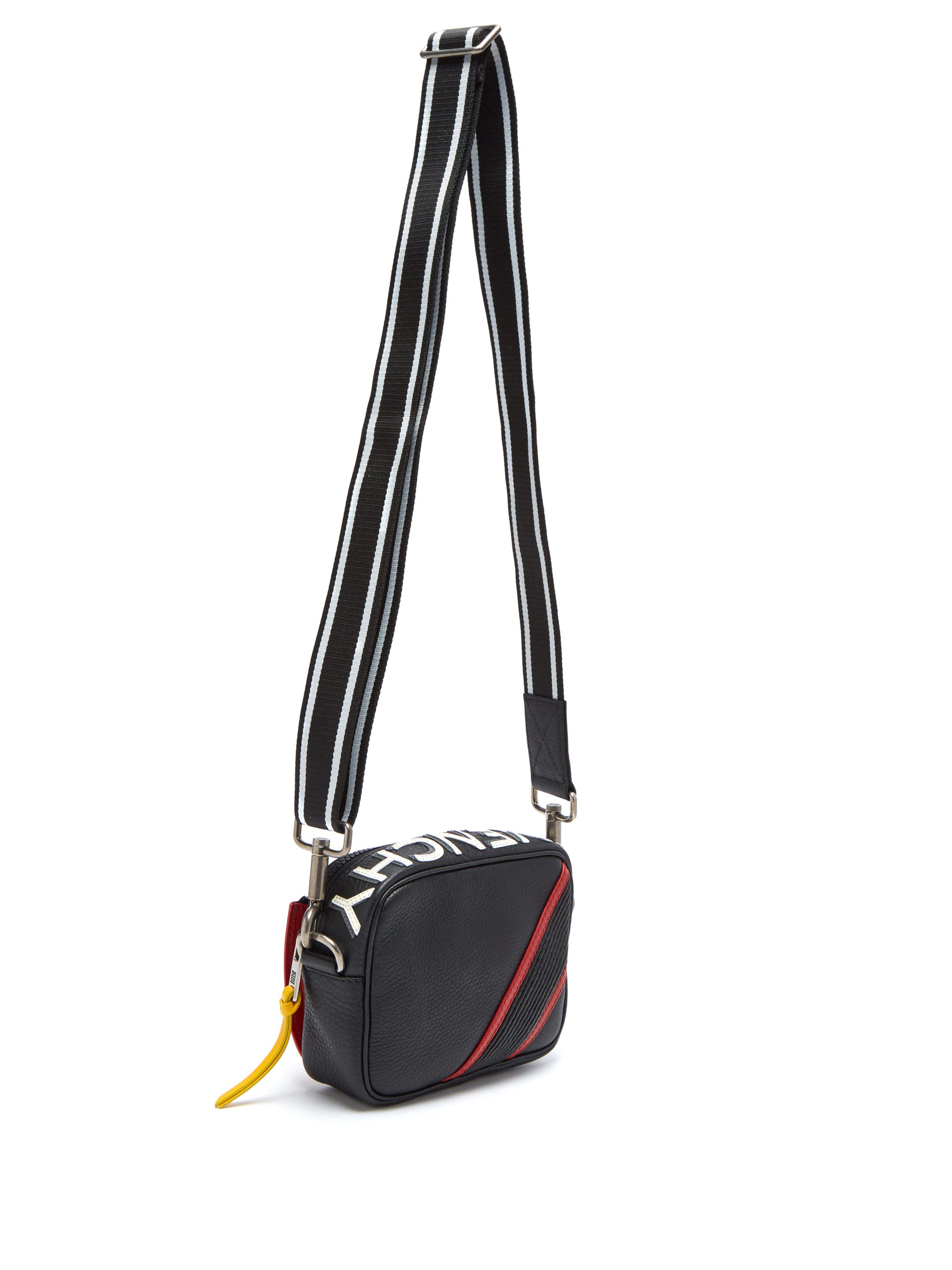 46c5090478 Givenchy - Black Sac bandoulière en cuir MC3 for Men - Lyst. Afficher en  plein écran