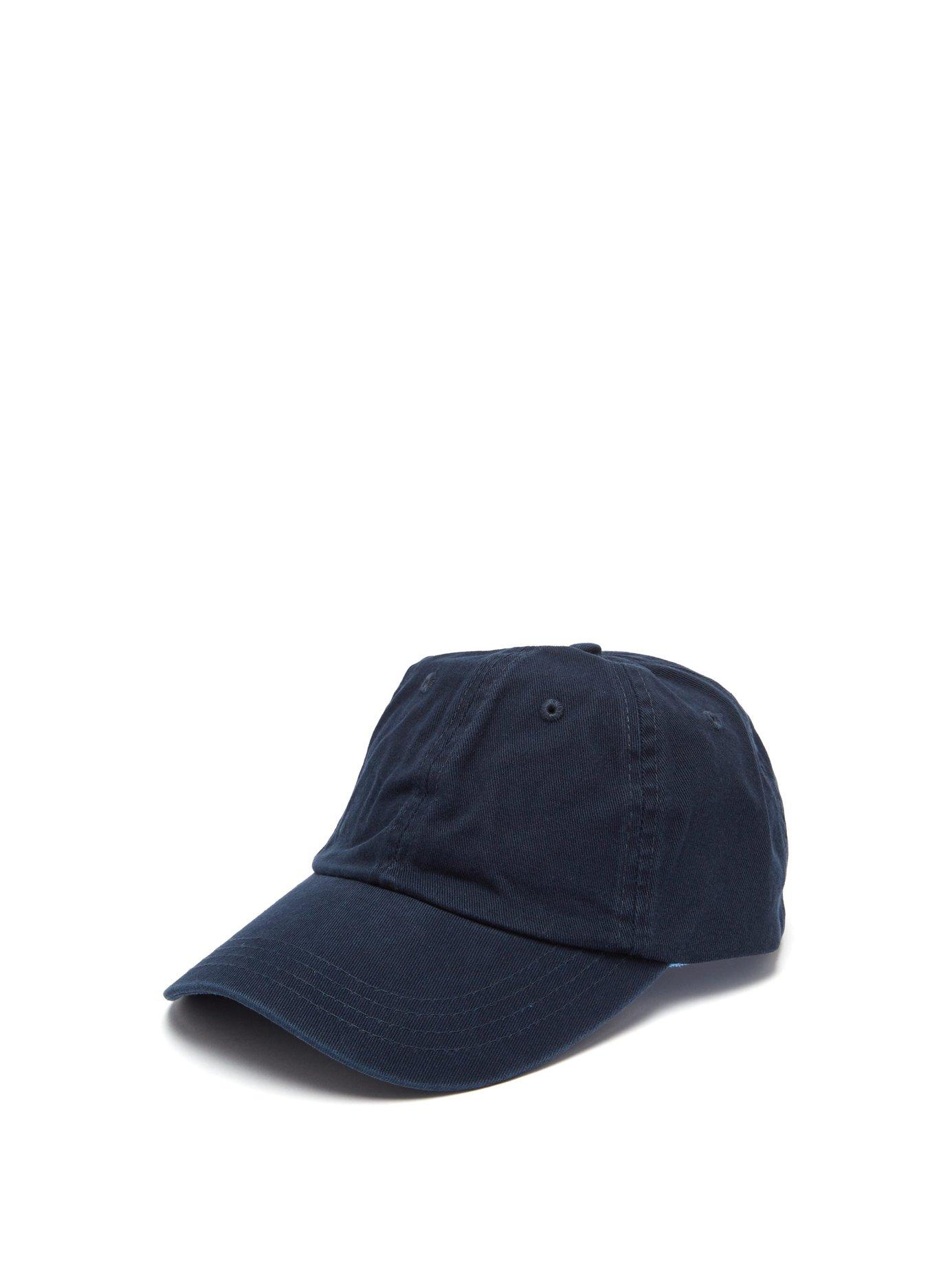 392a16c091a021 Lyst - Orlebar Brown Beesley Cotton Canvas Cap in Blue for Men