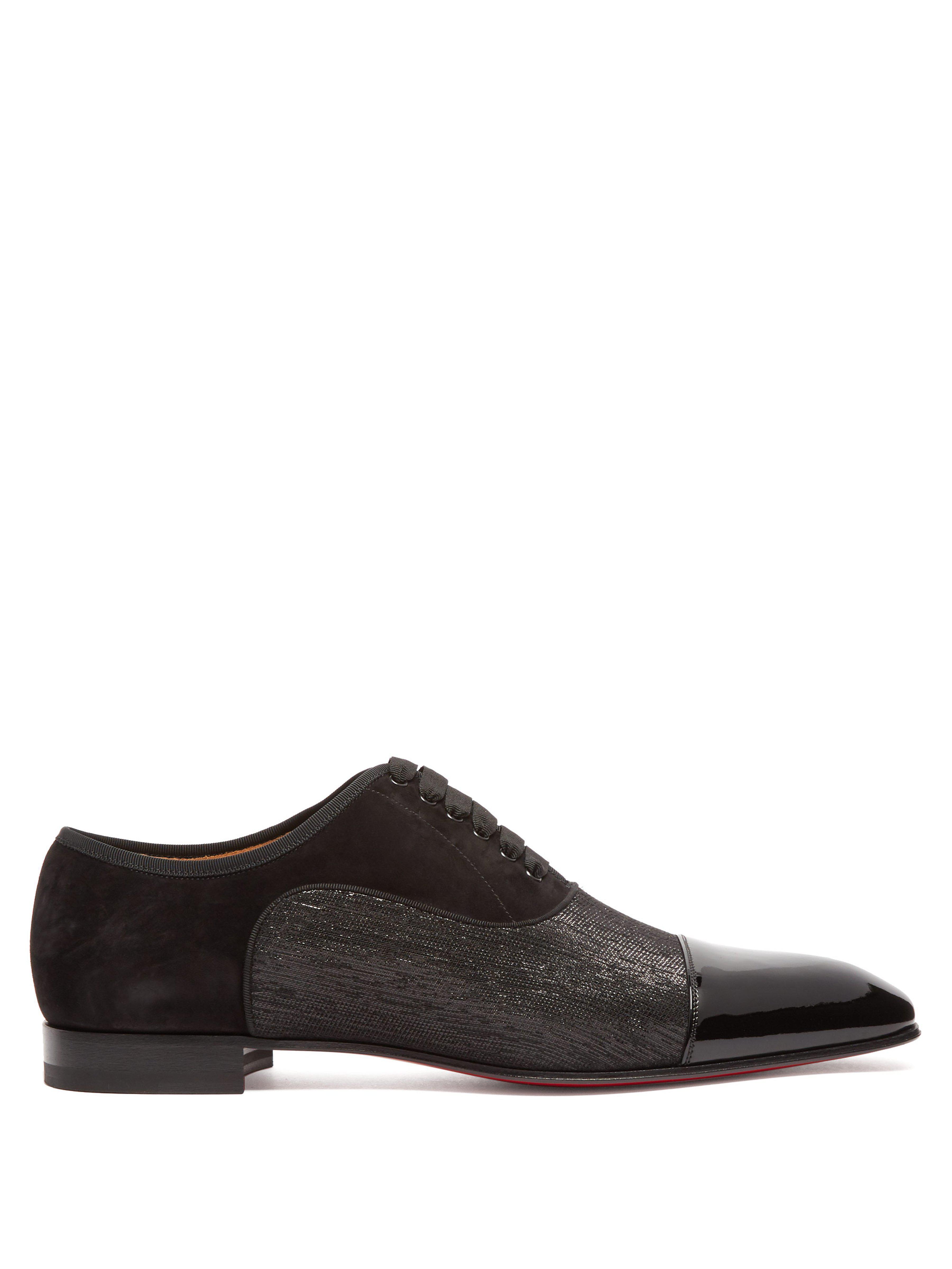 7e25e6befe3d Christian Louboutin Greggo Orlato Patent Leather Oxford Shoes in ...