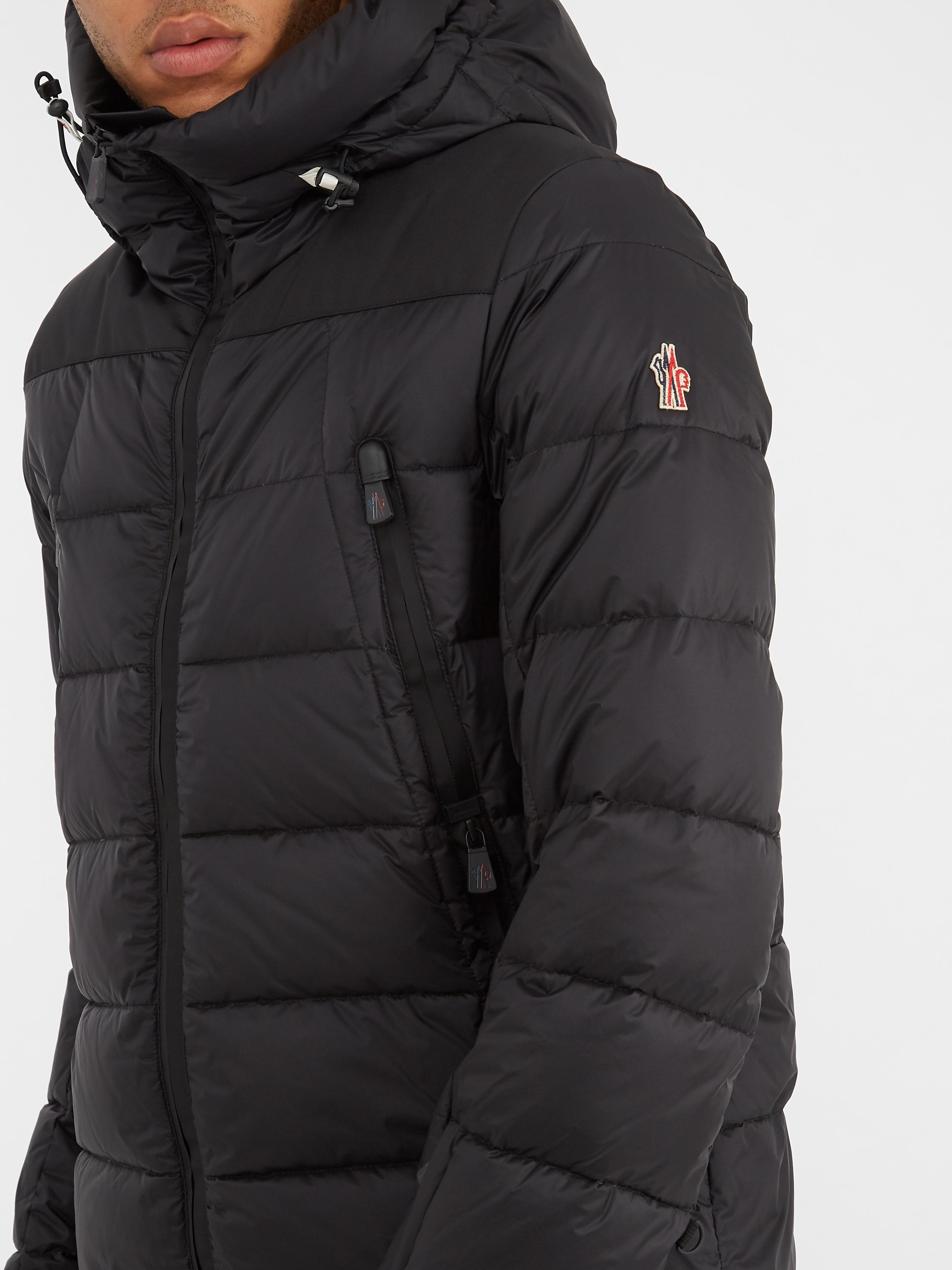 Lyst Moncler Grenoble Camurac Hooded Quilted Down Jacket