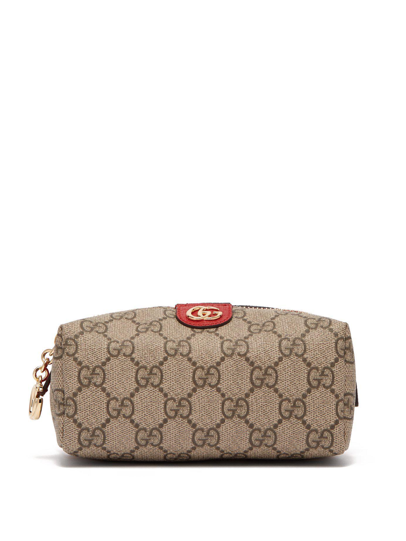 05d86610e73 Gucci. Women s Ophidia Gg Supreme Canvas Make Up Bag