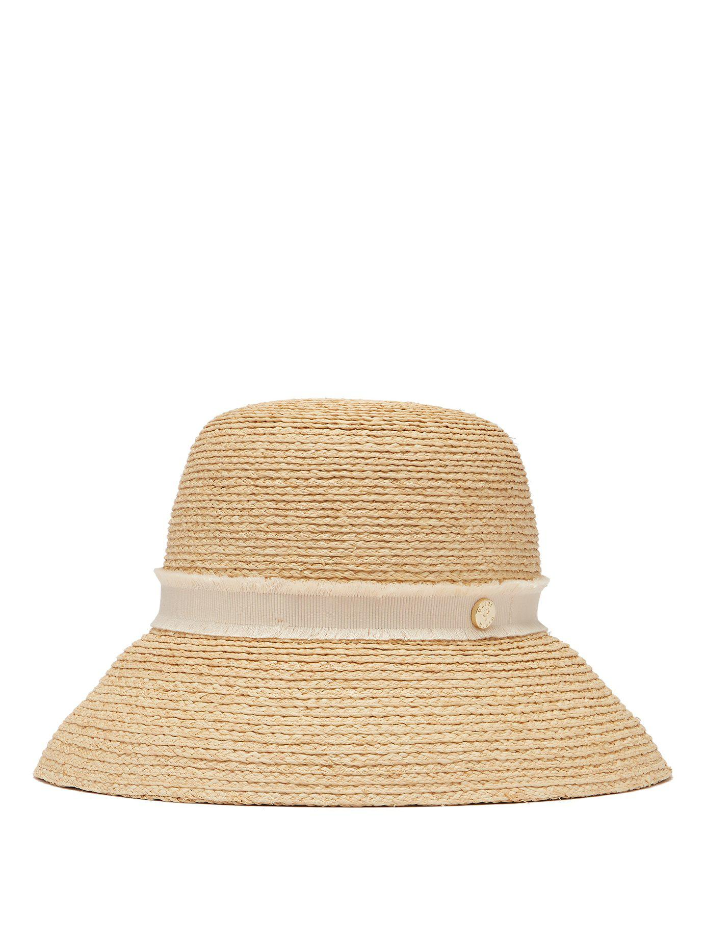Lyst - Heidi Klein Cape Elizabeth Straw Hat in Natural e41a1c97bc4d