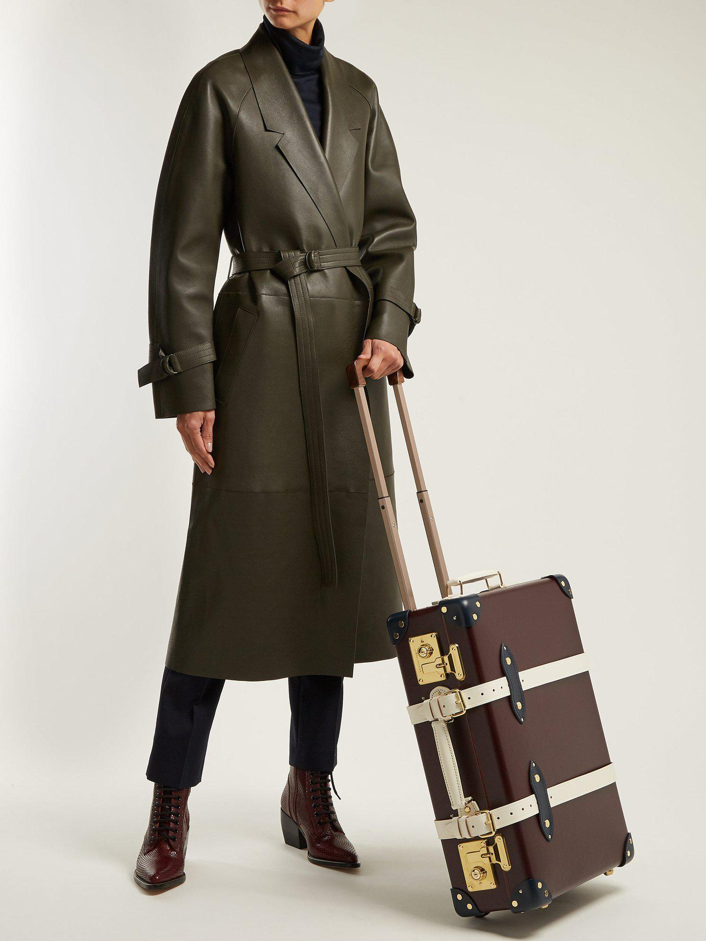 a283757b3a8 Lyst - Globe-Trotter X The Goring 20 Suitcase in Purple