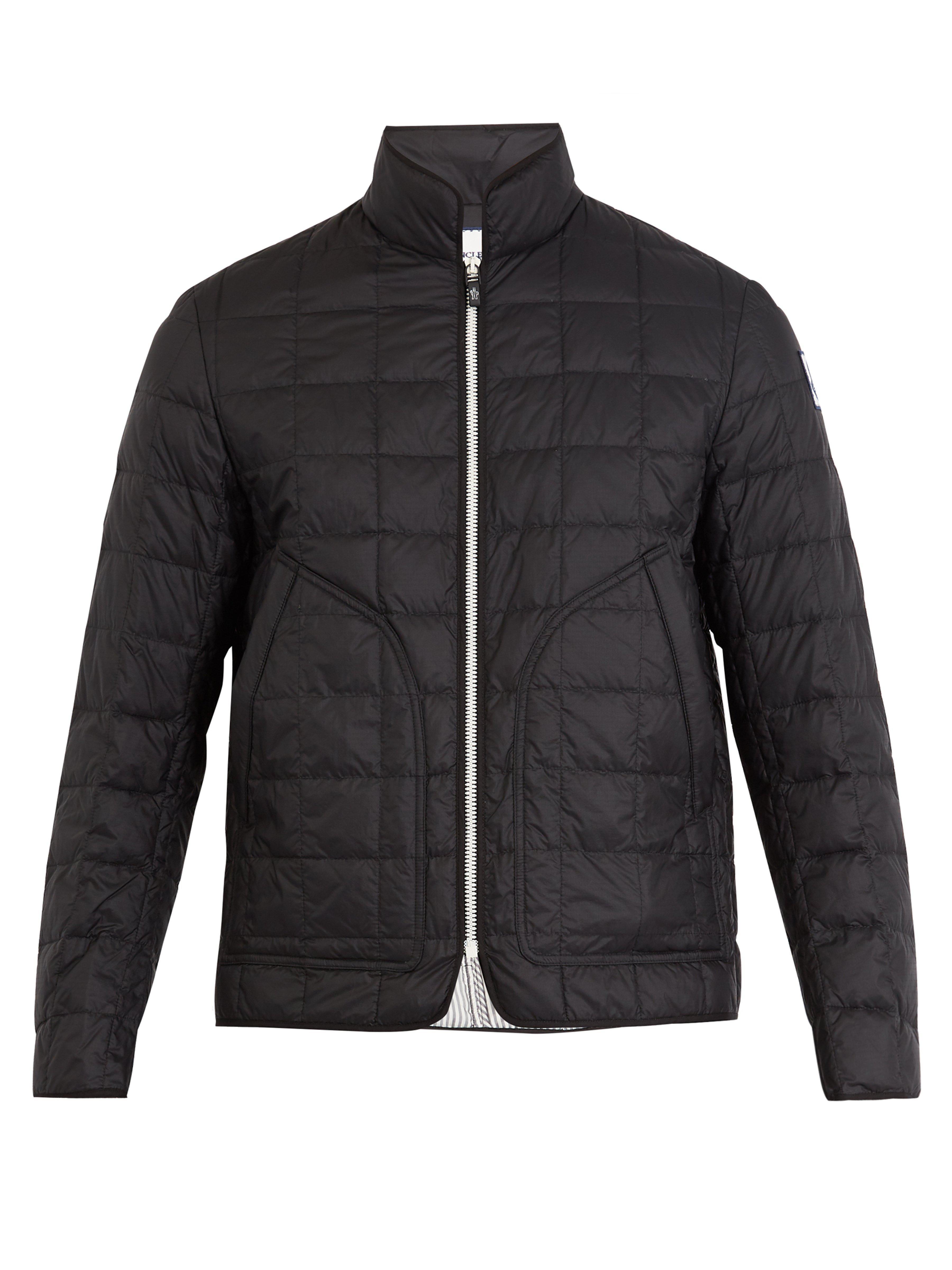 ef3c0d3b0111 Moncler Gamme Bleu Quilted Down Jacket in Black for Men - Lyst