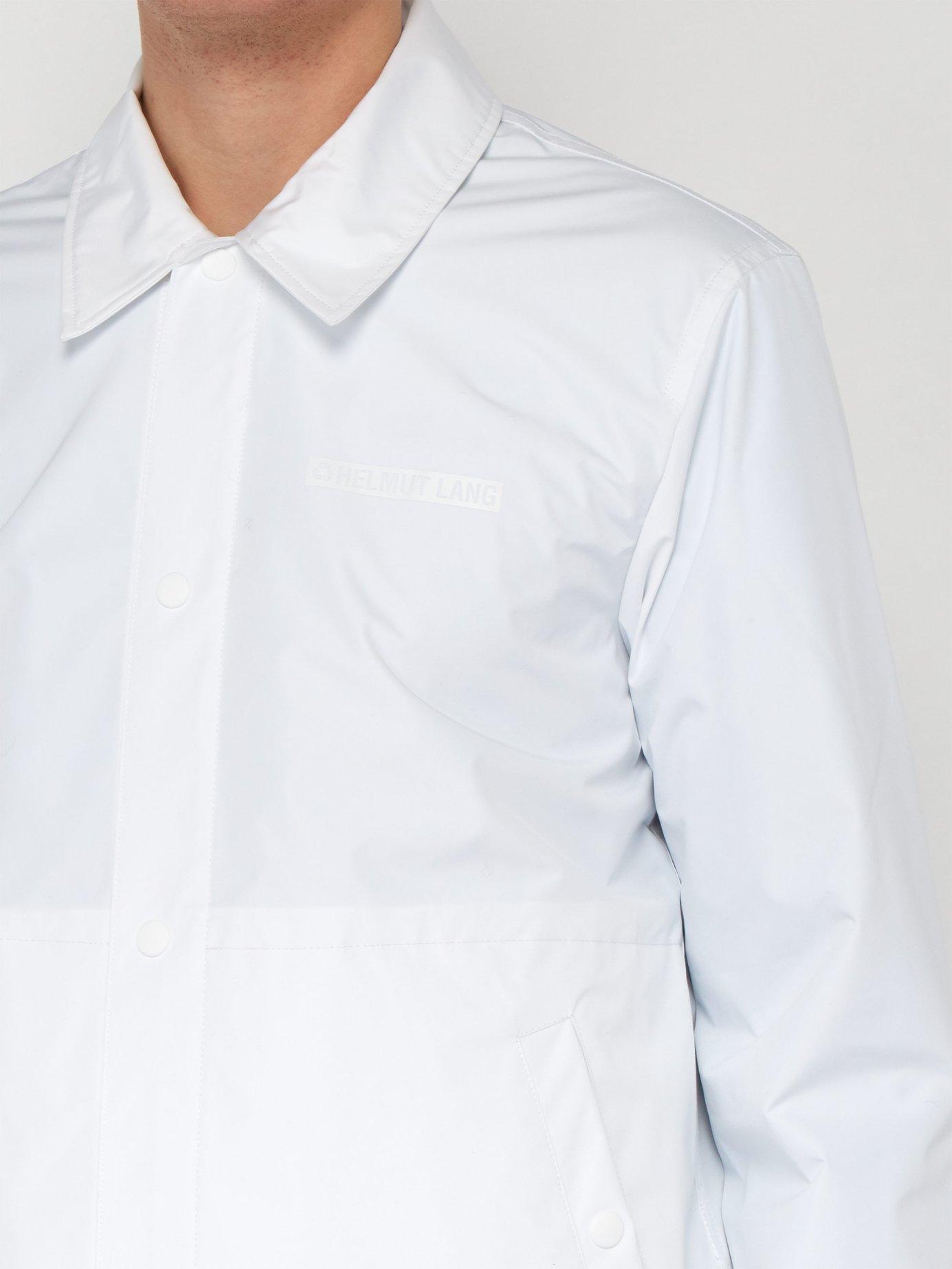 173d0c407 Helmut Lang - White X Parley For The Oceans Stadium Recycled Jacket for Men  - Lyst. View fullscreen
