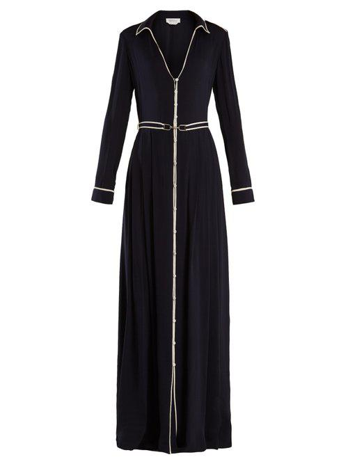 Lempicka silk crepe de Chine gown Gabriela Hearst c2Okh3MhQ6