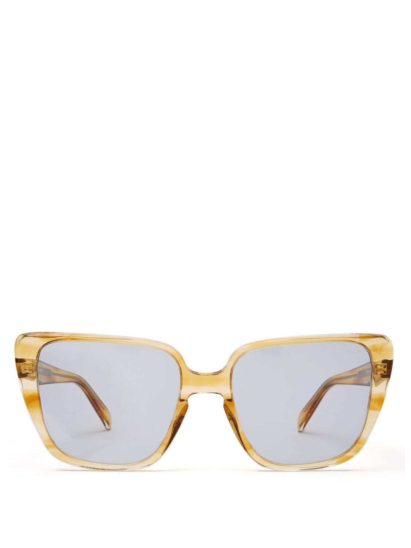 334799b3b8cc Céline. Women s Square Cat Eye Acetate Sunglasses