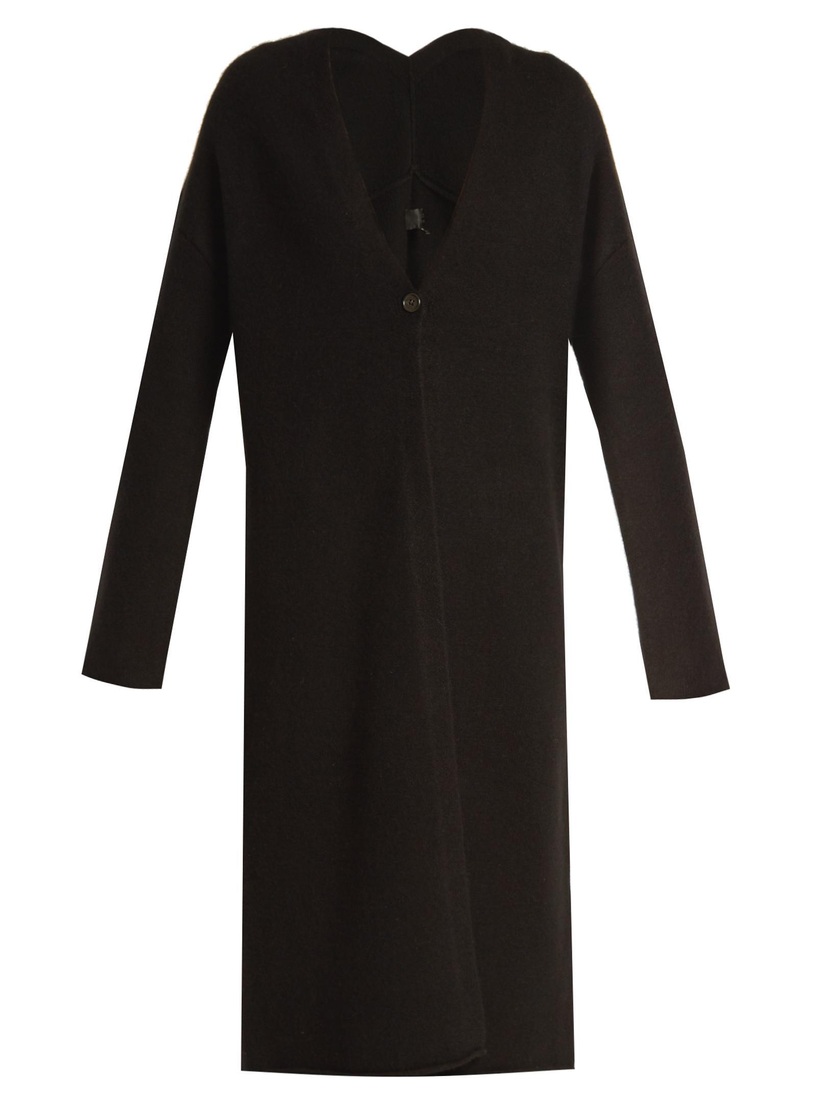 68d42e415ad68e Lyst - Nili Lotan Clarissa V-neck Cashmere Cardigan in Black