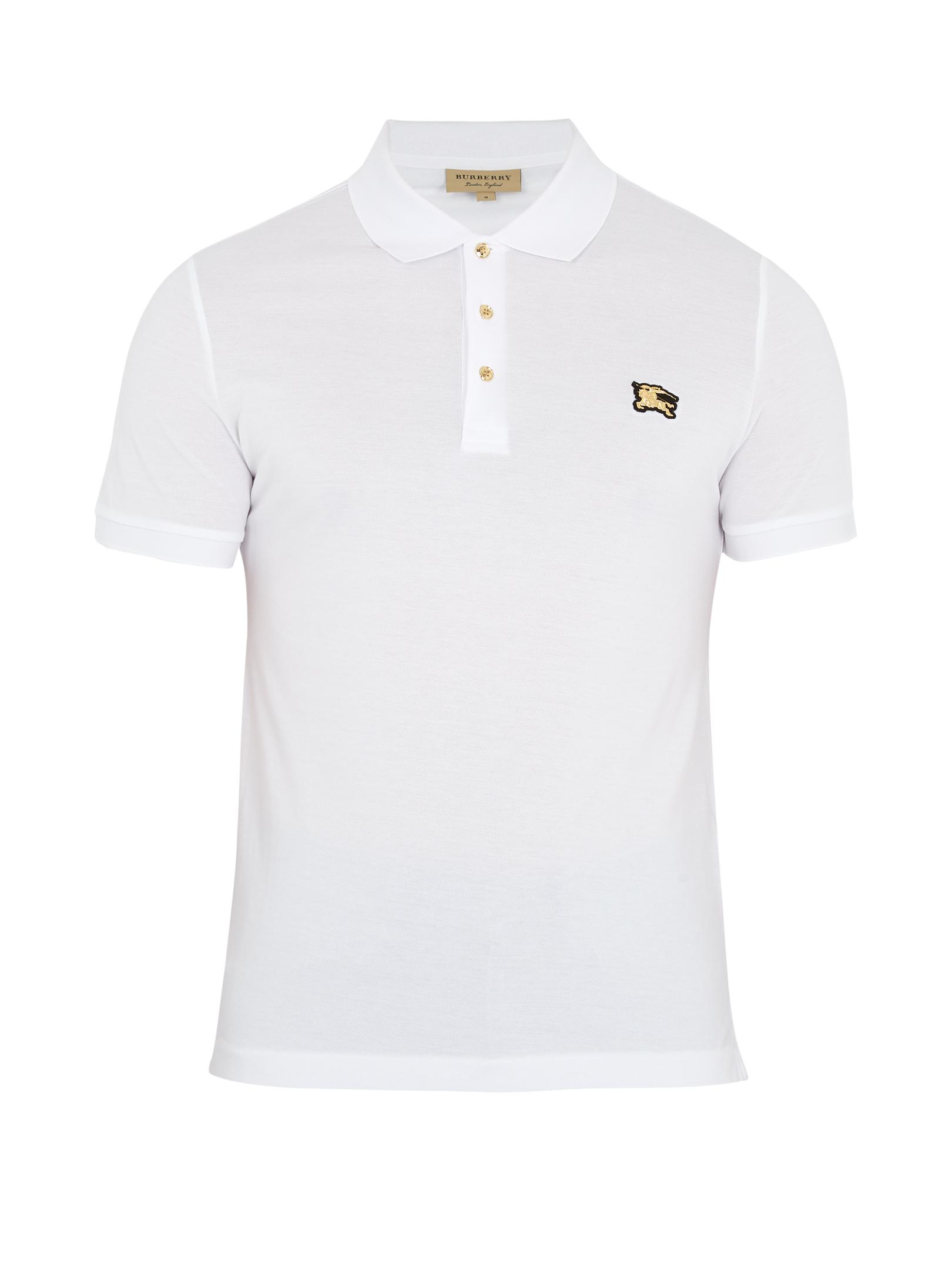 Sport Stripe Oversized Polo Shirt - Black Burberry Shop 3dsngawQ5
