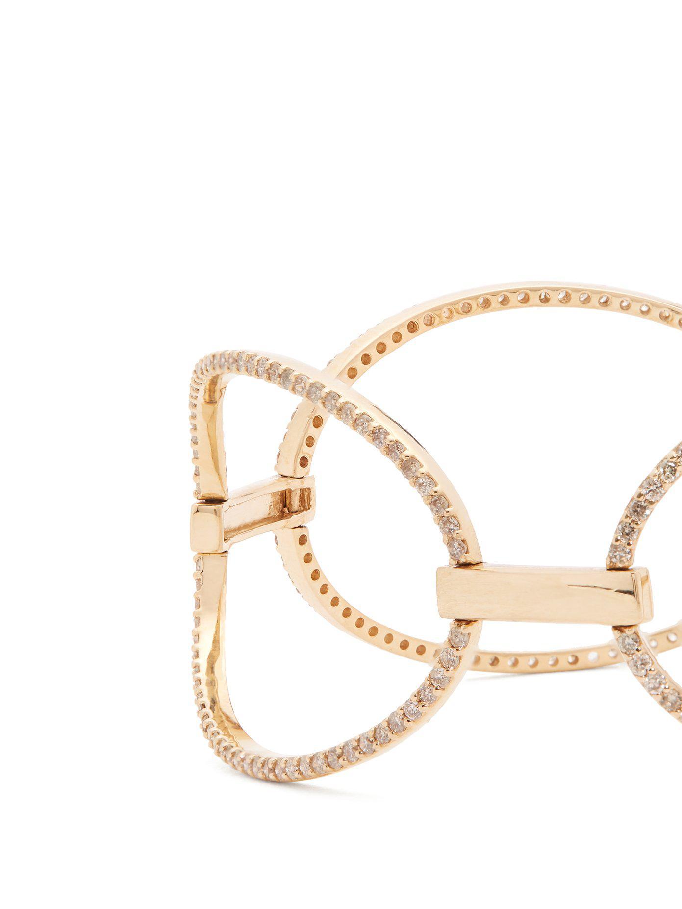 Diamant Et Bracelet En Or Jaune Ileana Makri D3ipyAK