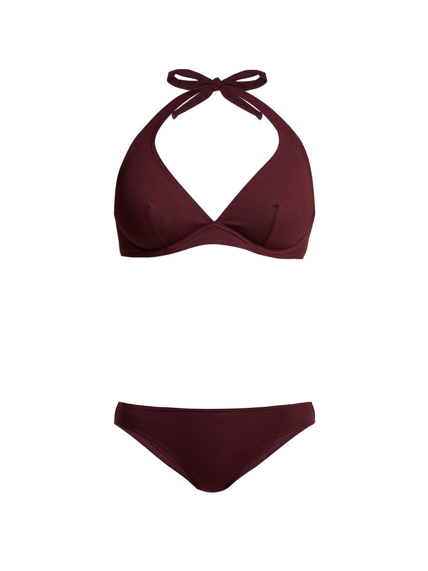 409d121330 Lyst - Eres Bandito   Scarlett Bikini in Red