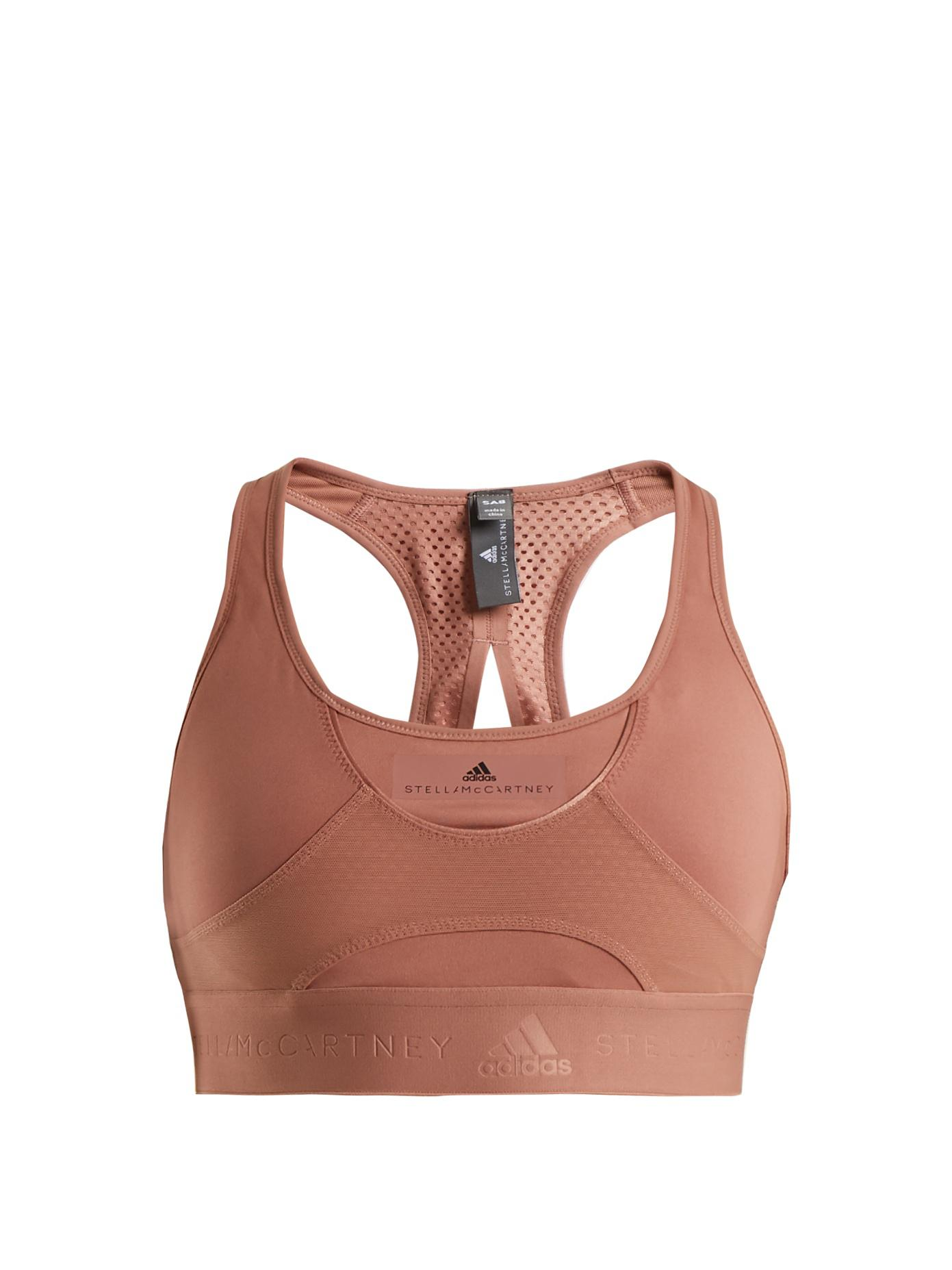 Hit performance bra adidas by Stella McCartney Find Great Clearance Best Sale lkUyUBLIF3
