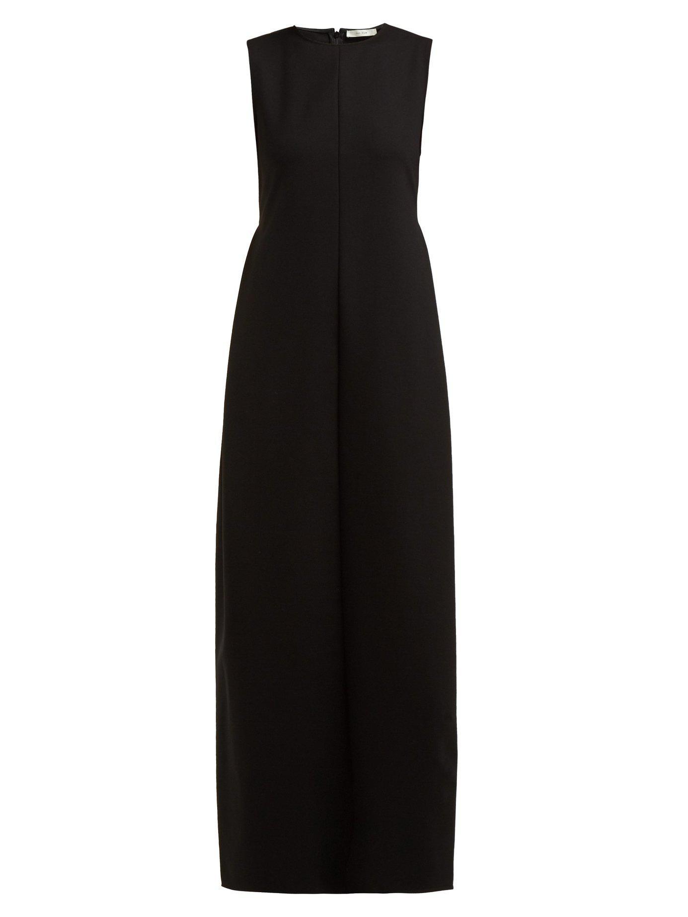 597bc581e6679 Lyst - The Row Ianni Maxi Dress in Black