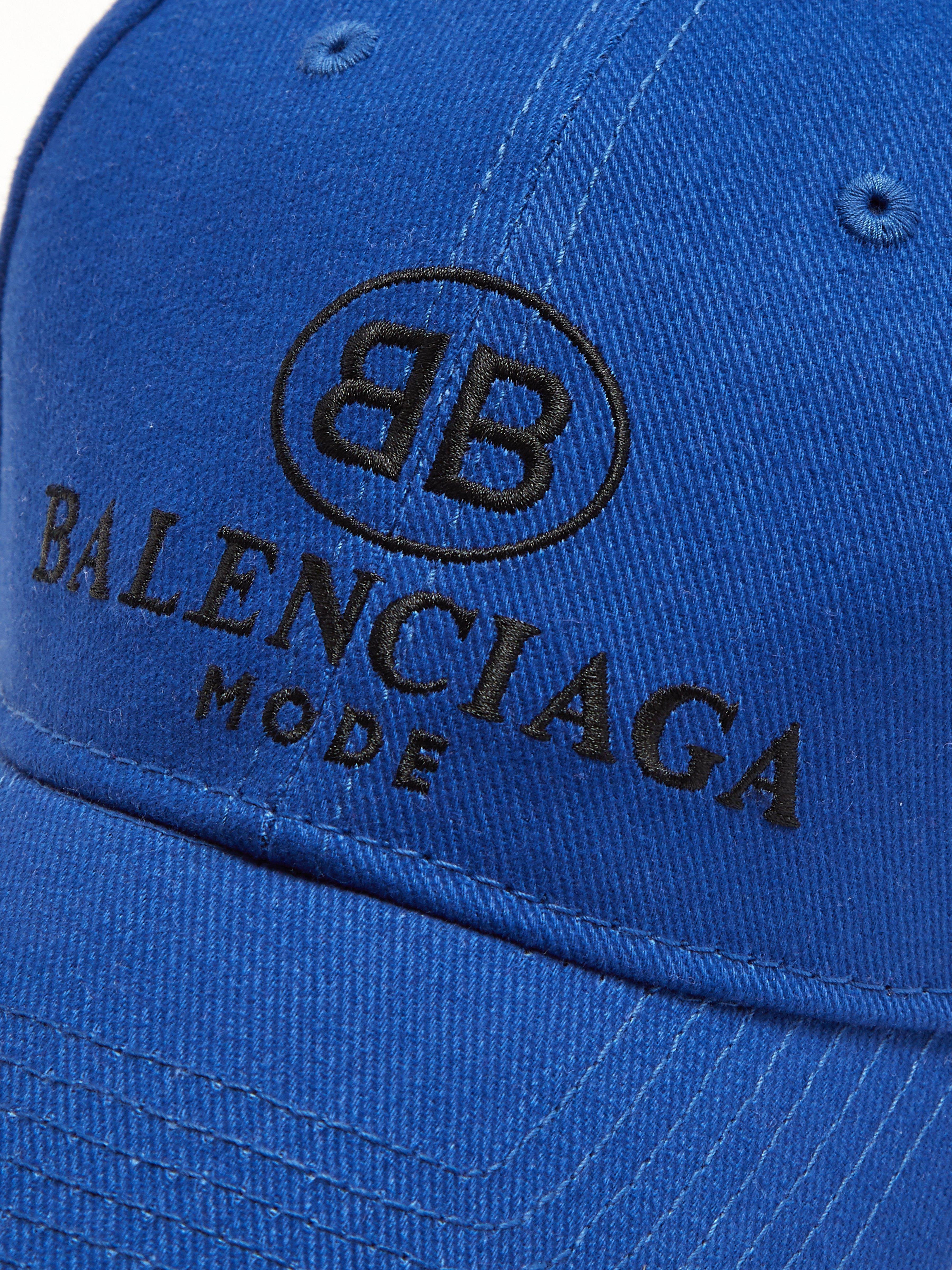 Pour Coton Casquette Broderie Logo Balenciaga En Homme Coloris À 0wOkX8nPN