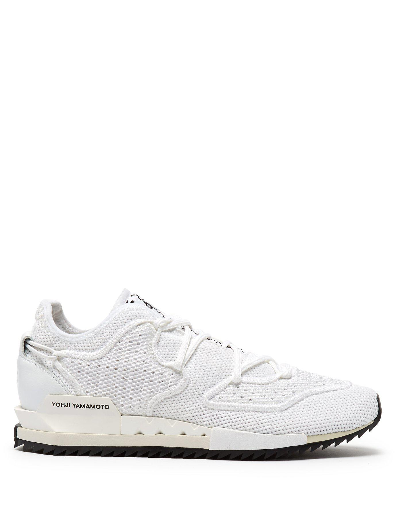 d118c2cb03 Lyst - Y-3 Harigane Ii Low Top Mesh Trainers in White for Men