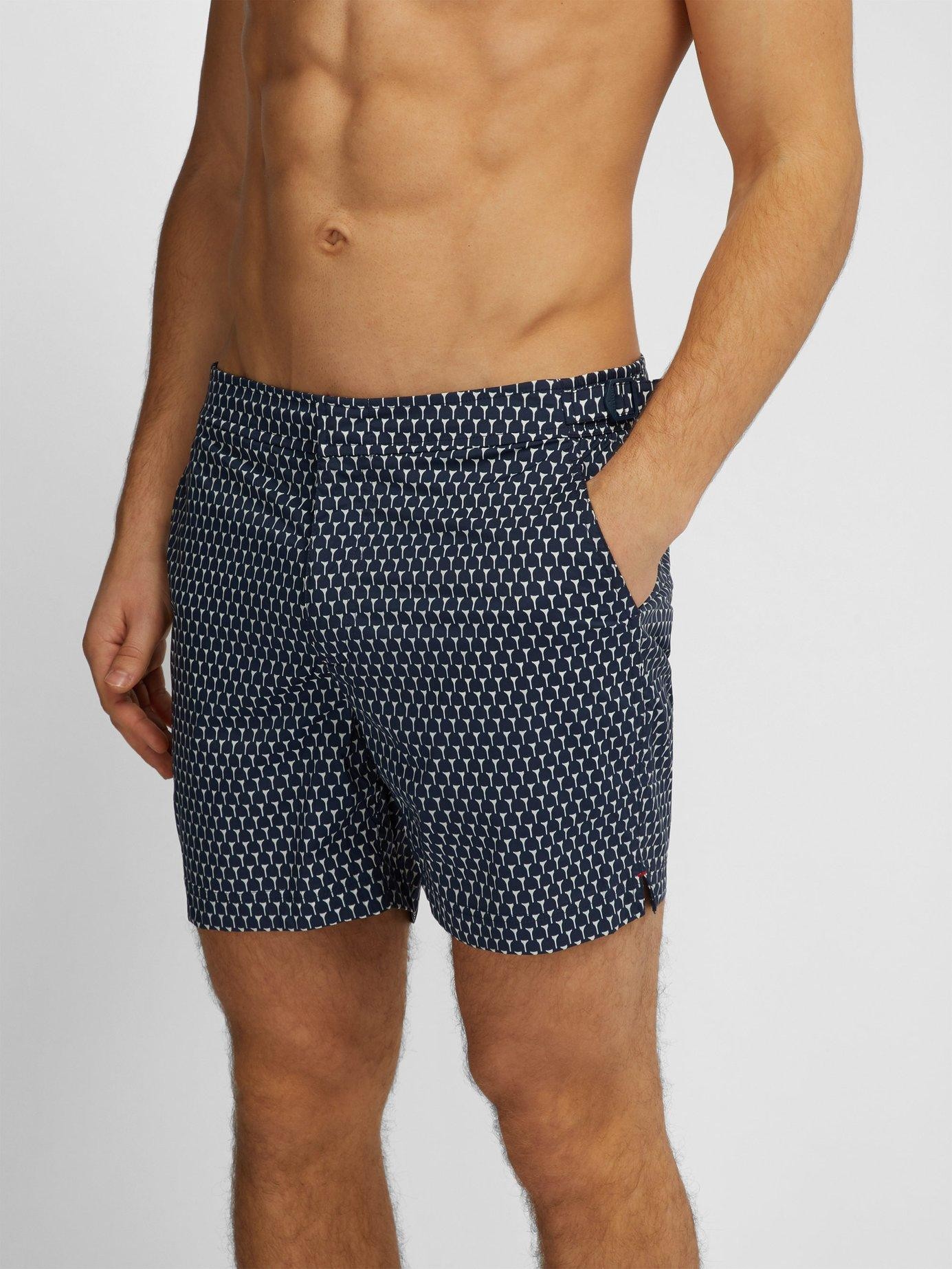 b7205c6730 Lyst - Orlebar Brown Bulldog Sport Cerchio Print Swim Shorts in Blue for Men
