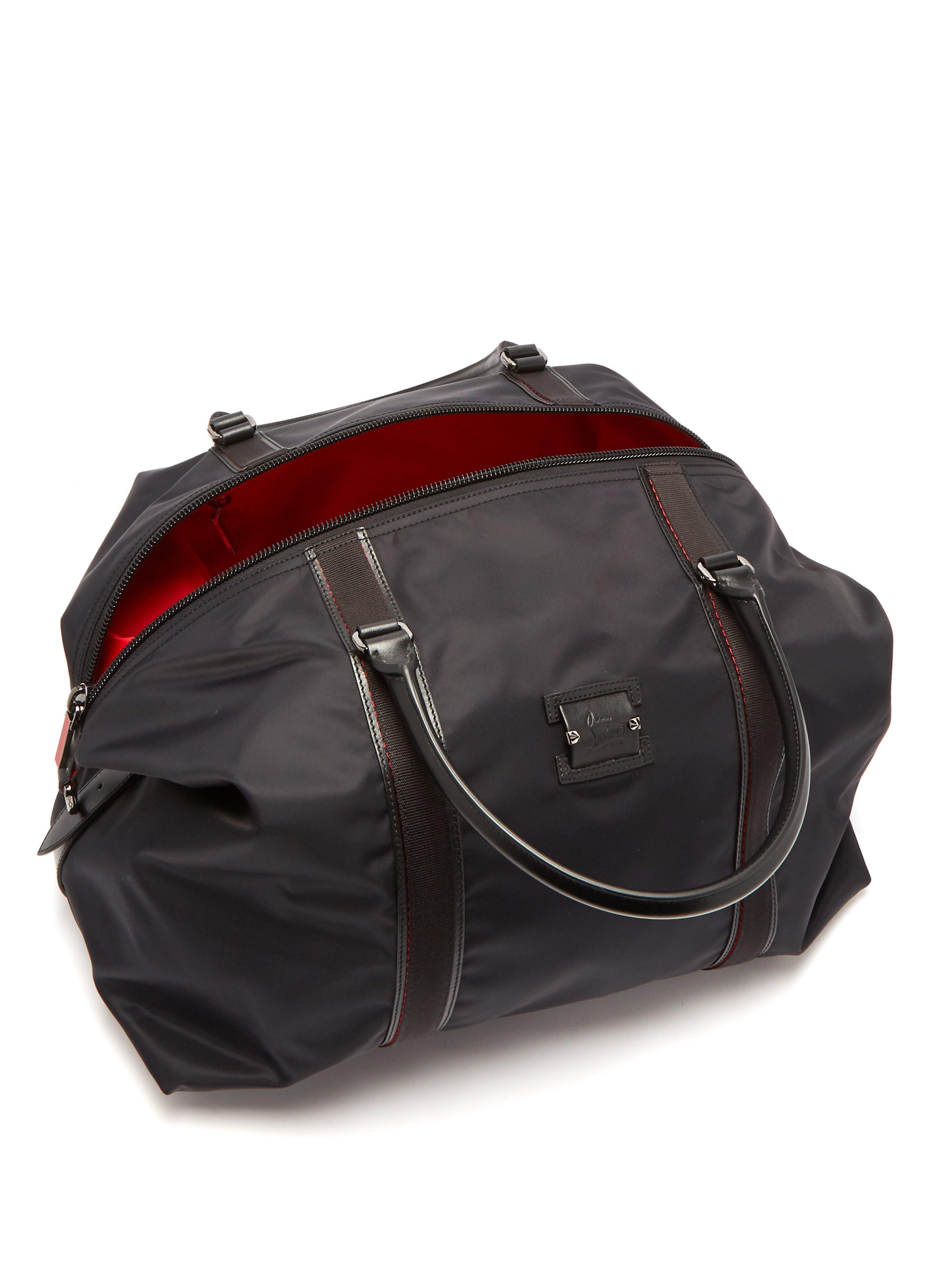 dd4dfbd2aa85 Christian Louboutin Parislisboa Double Handle Weekend Bag in Black for Men  - Lyst