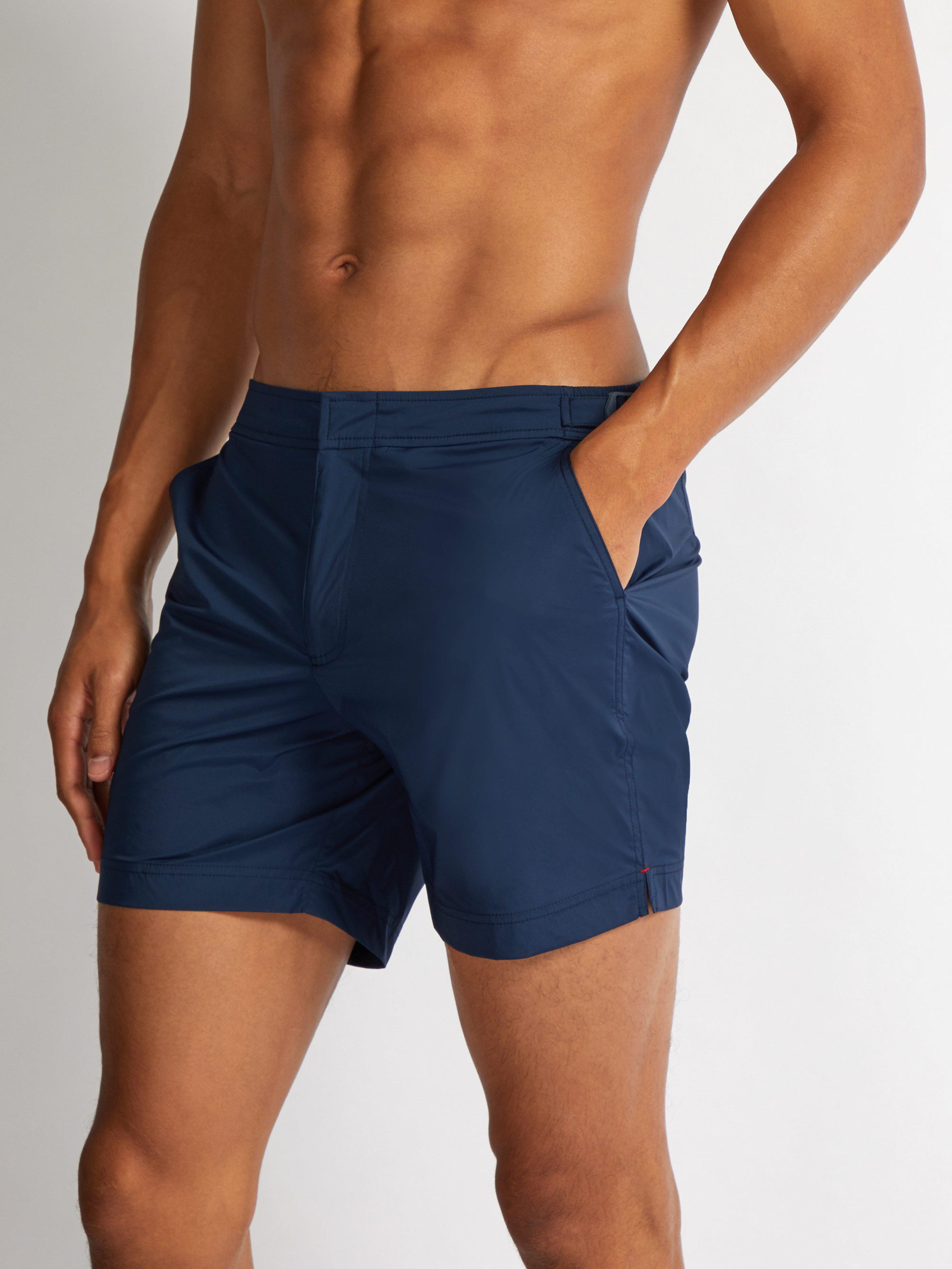 5f4b0444911a0 Orlebar Brown Bulldog Sport Swim Shorts in Blue for Men - Lyst