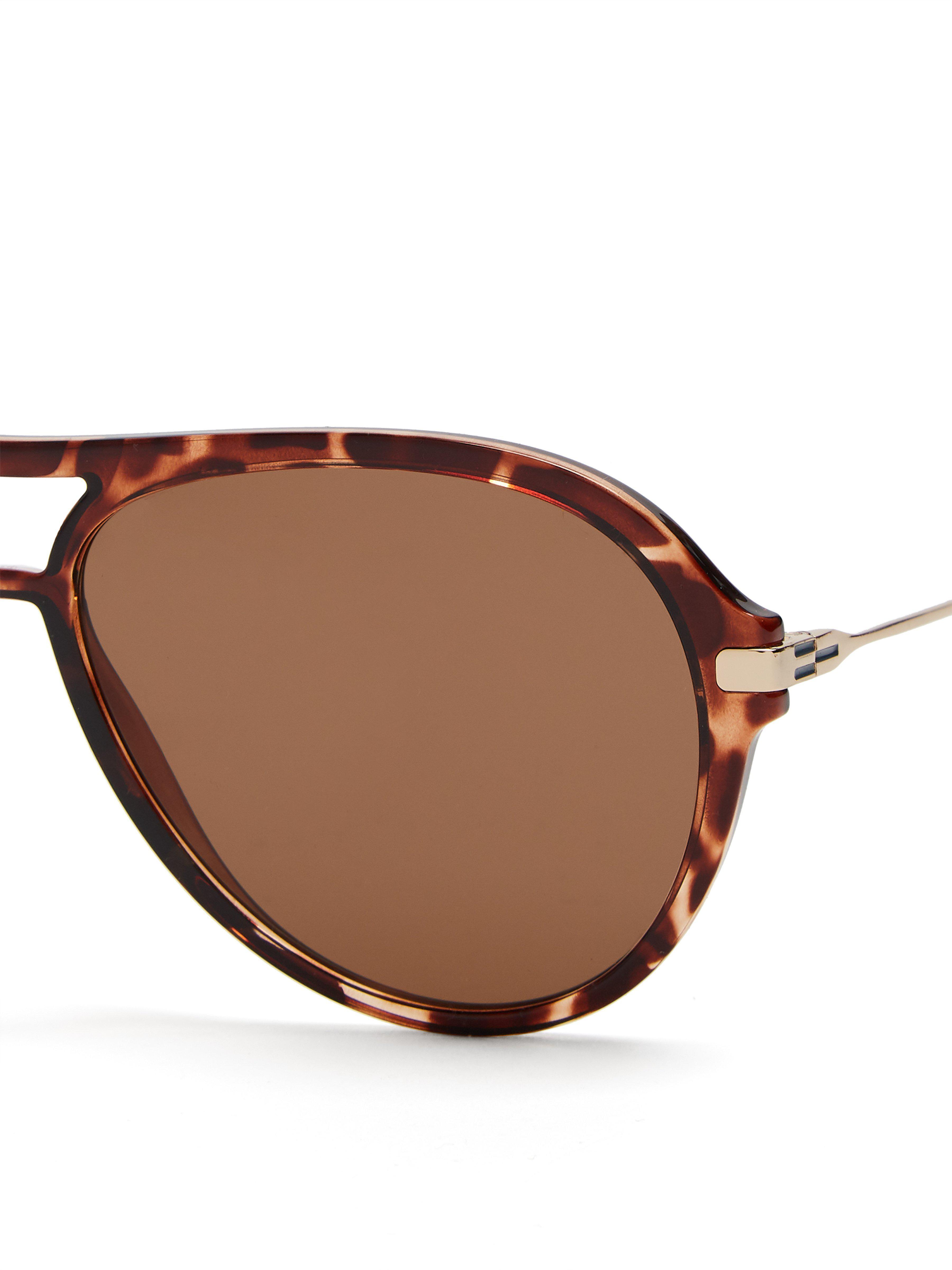 2e011c87242f Meeyye Symi Tortoiseshell Sunglasses in Brown - Lyst