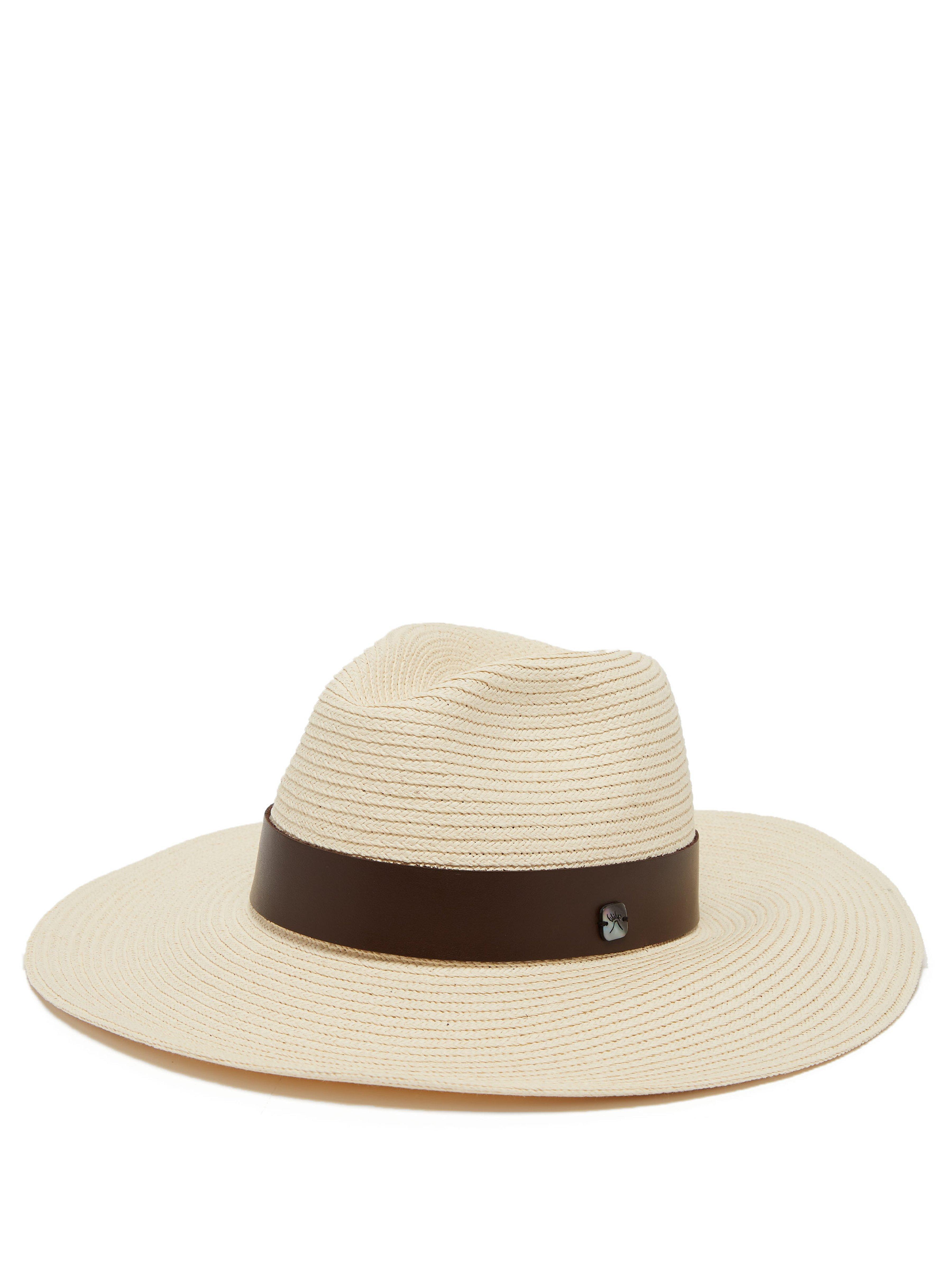 36cce0cc Filù Hats Batu Tara Bianca Papier Panama Hat in Natural - Lyst