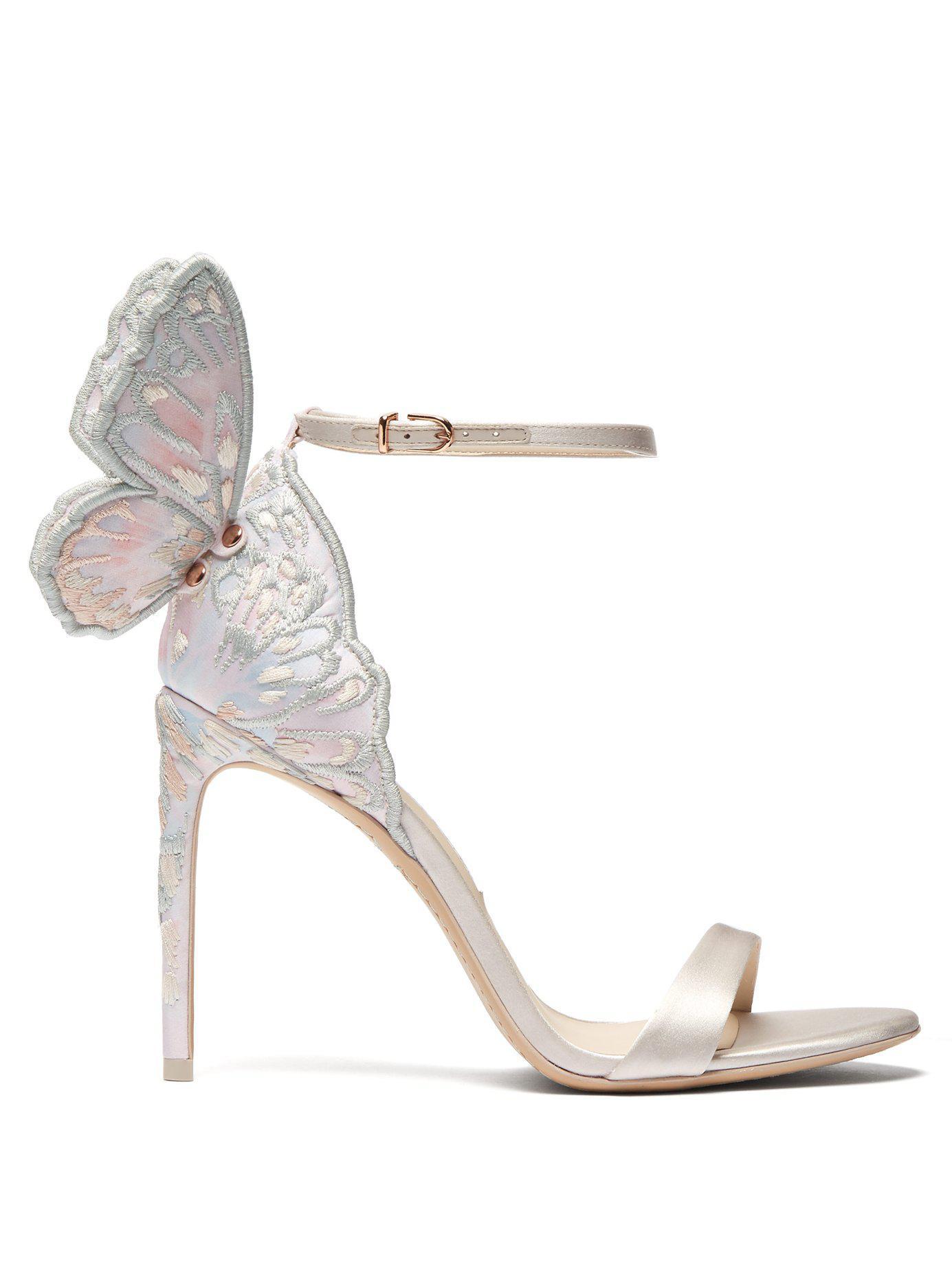 50c4e3ccbab Lyst - Sophia Webster Women s Chiara High-heel Sandals in White