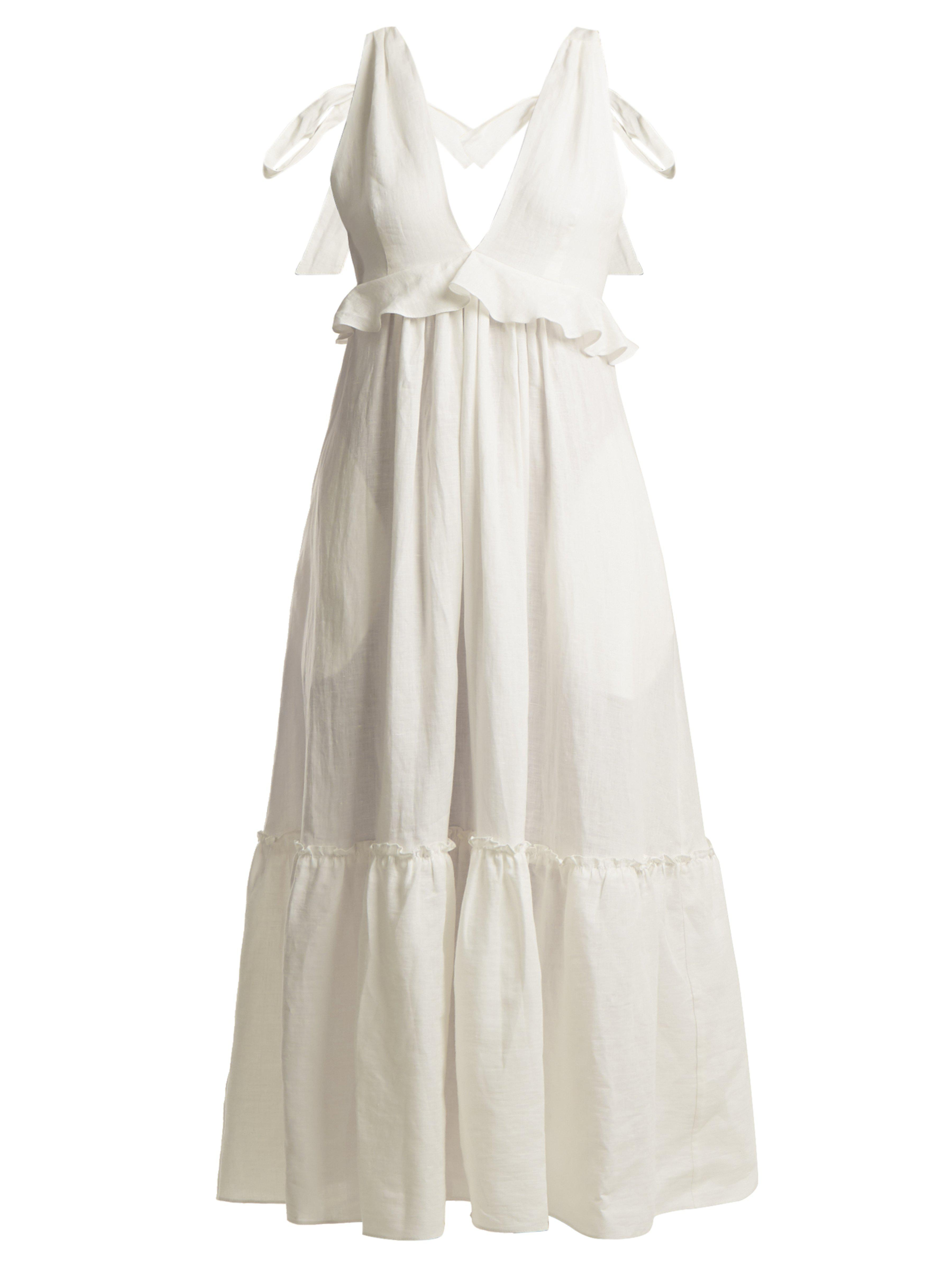 712739bc345 three-graces-london-white-Lydia-Tie-Neck-Linen-Dress.jpeg