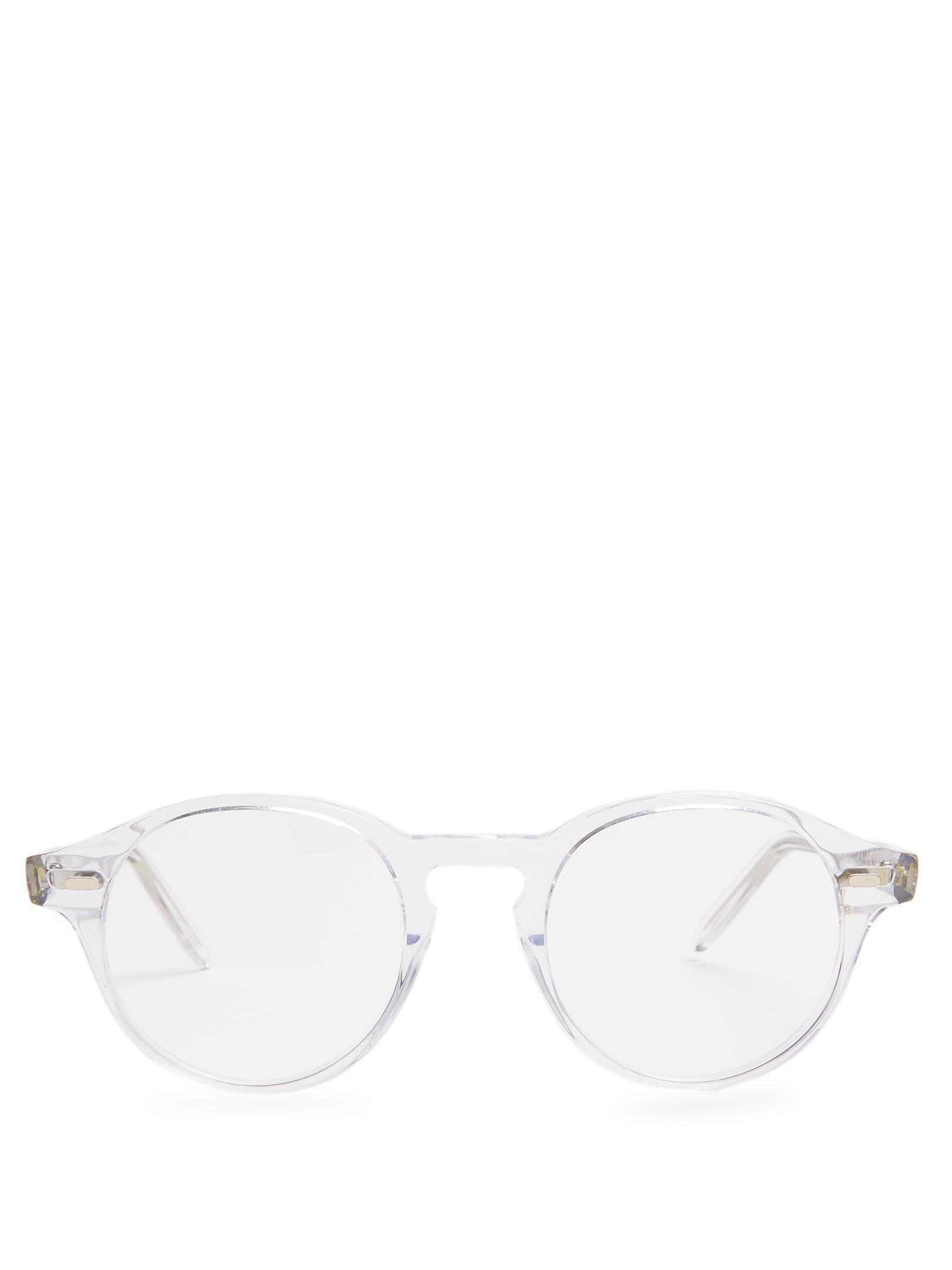 lyst cutler gross 1234 acetate glasses for men  gallery