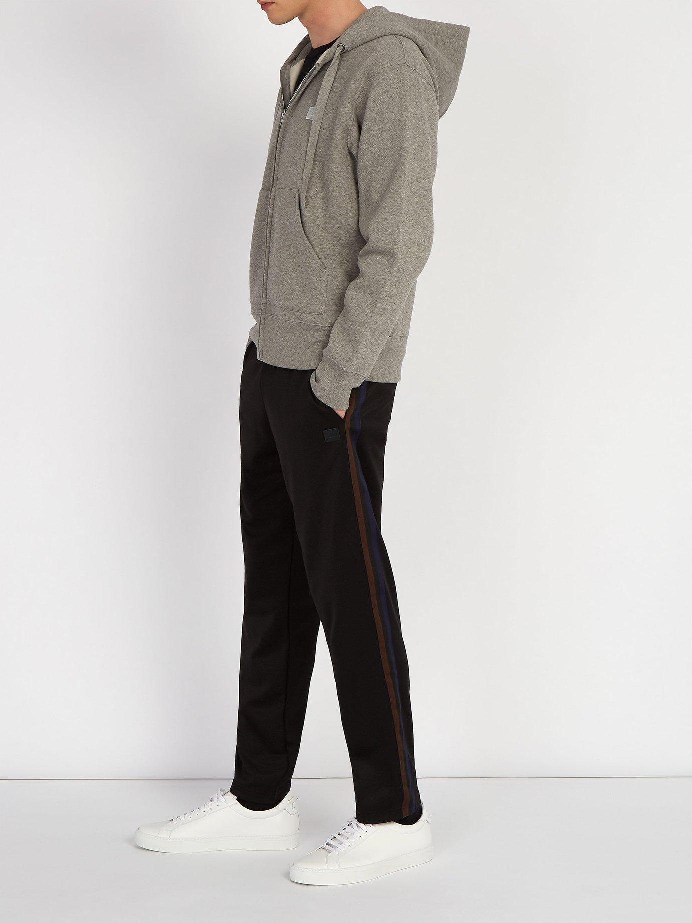 Acne - Gray Sweat-shirt en coton à capuche Ferris Face for Men - Lyst.  Afficher en plein écran aede9095de3