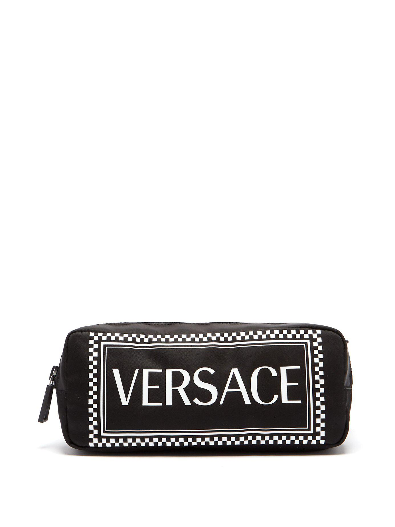 Logo For Belt Black Bag Print Lyst Nylon Men In Versace 5Wx4nFqf