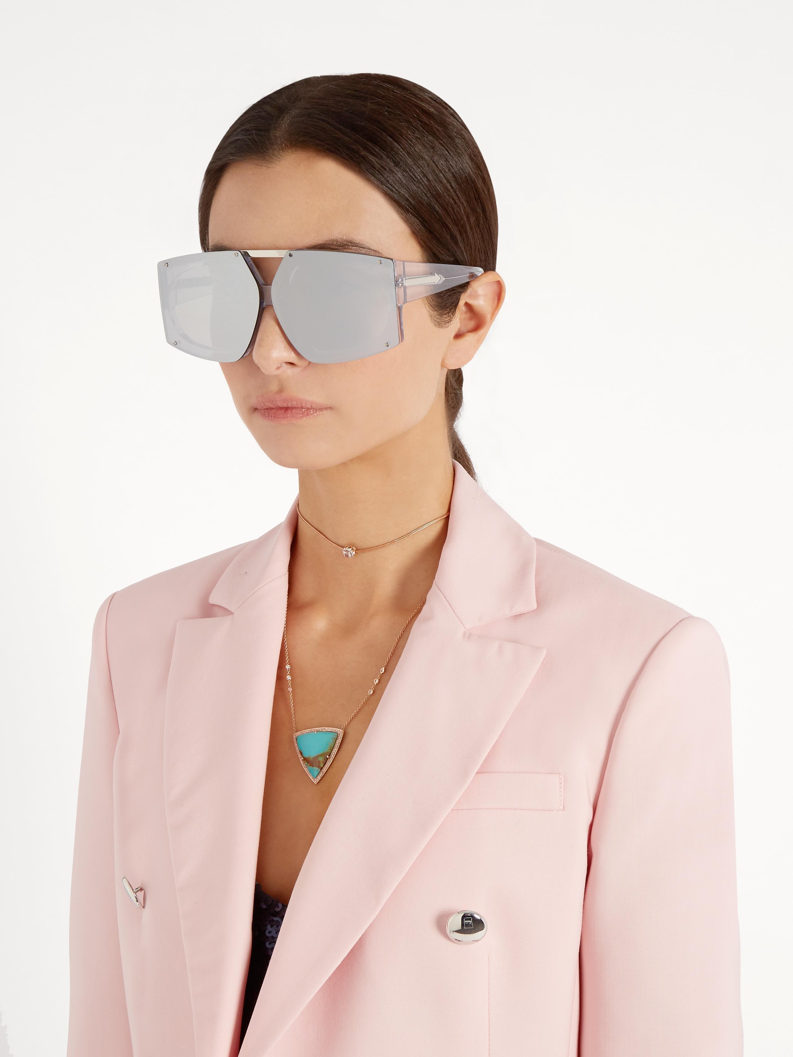 6a8c06647a58 Karen Walker Salvador Shield-frame Sunglasses - Lyst