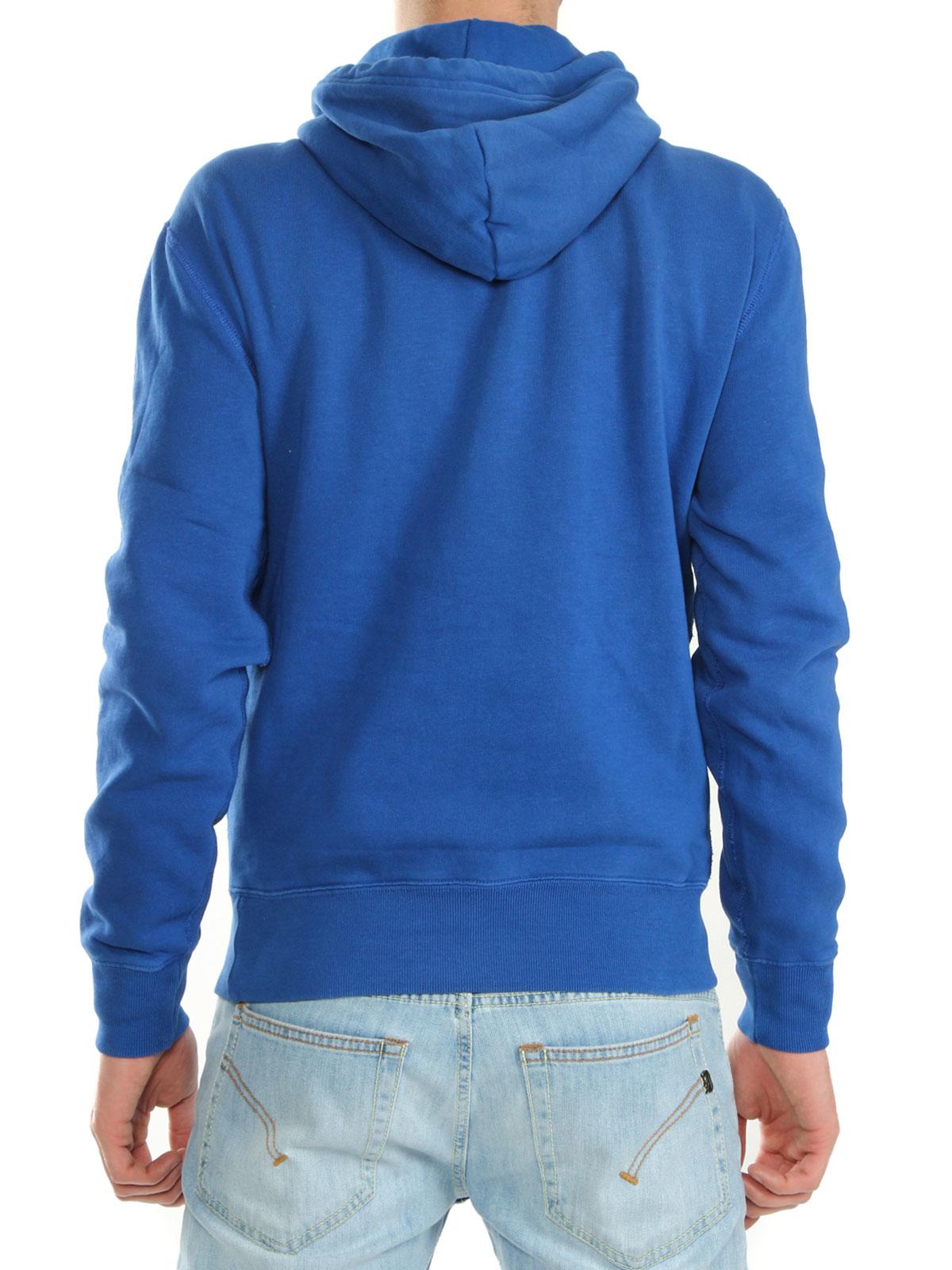 polo ralph lauren sweatshirt in blue for men lyst. Black Bedroom Furniture Sets. Home Design Ideas