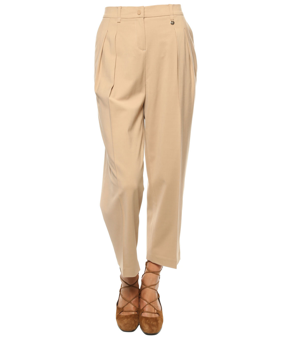 Liu jo Trousers in Natural