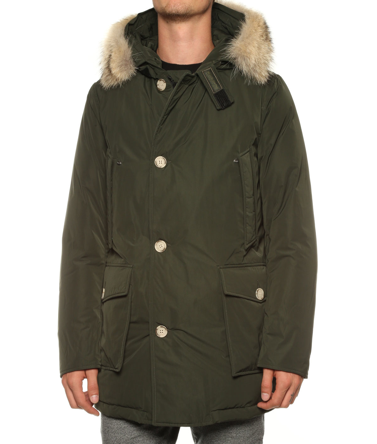 woolrich parka w 39 s luxury arctic in green for men lyst. Black Bedroom Furniture Sets. Home Design Ideas