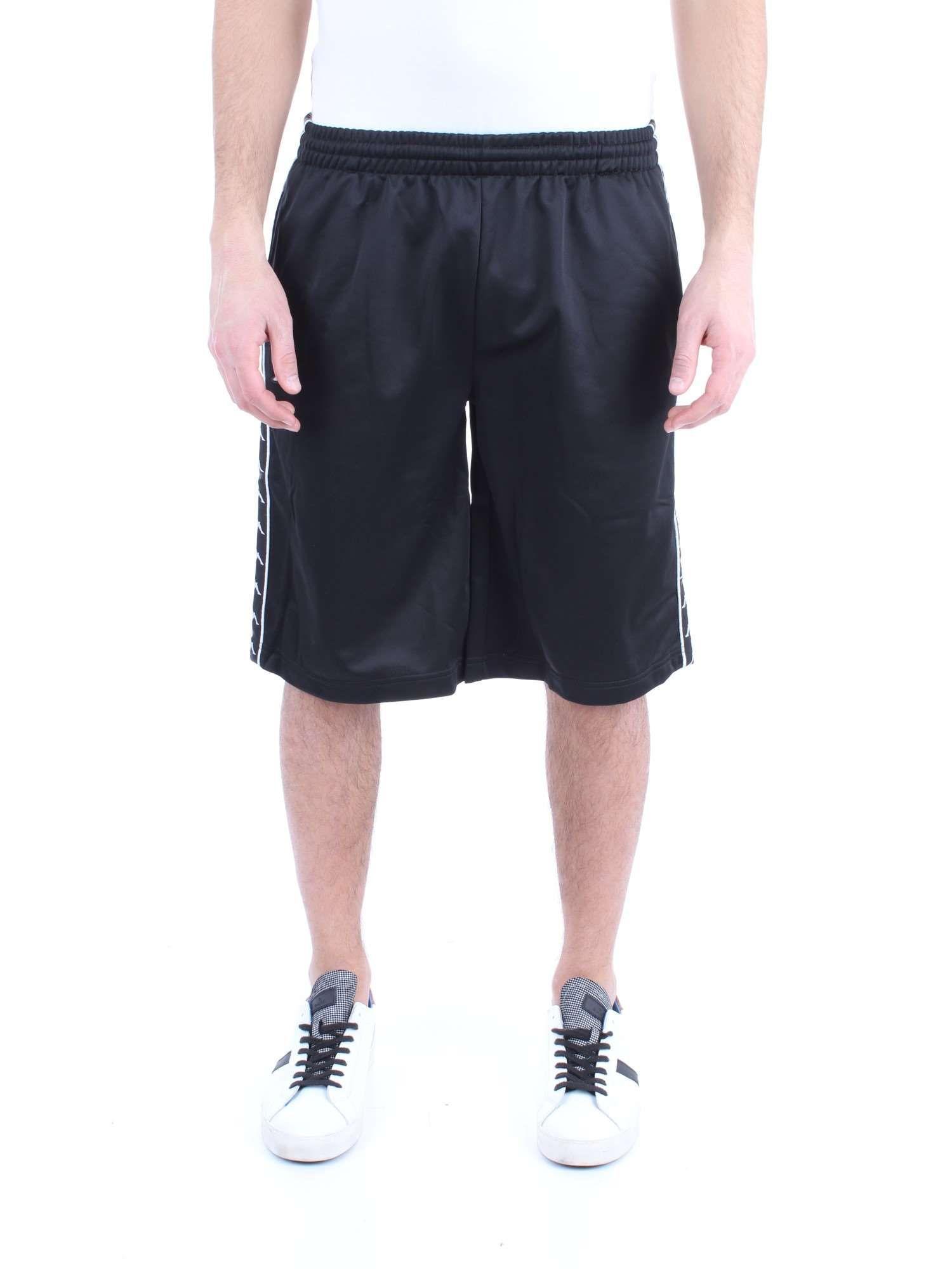nowy wygląd tani klasyczne dopasowanie Kappa Black Polyester Shorts in Black for Men - Lyst