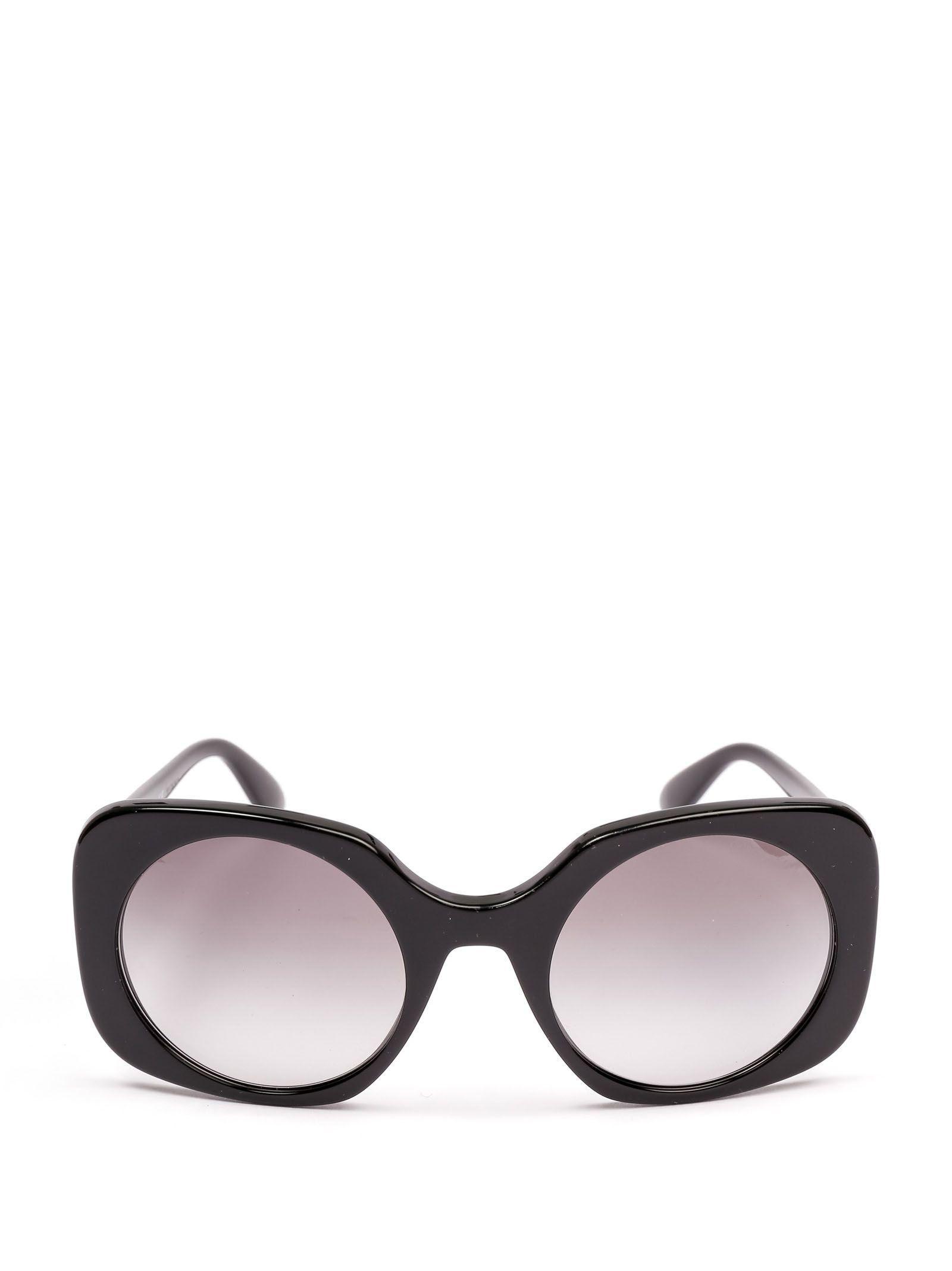 e5fdbfbaca5e Giorgio Armani Black Acetate Sunglasses in Black - Lyst